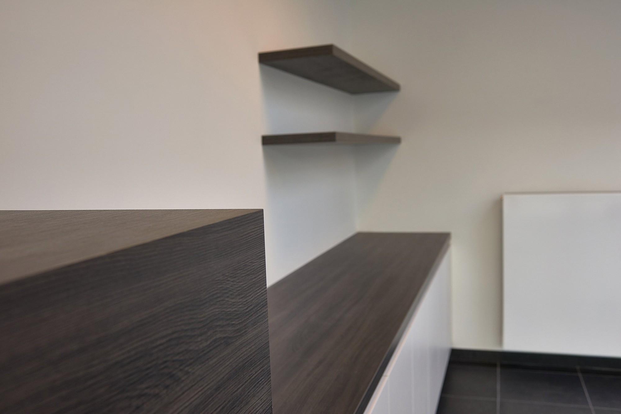 Afbeelding: Fotografie keuken detail afwerking voor DCA.
