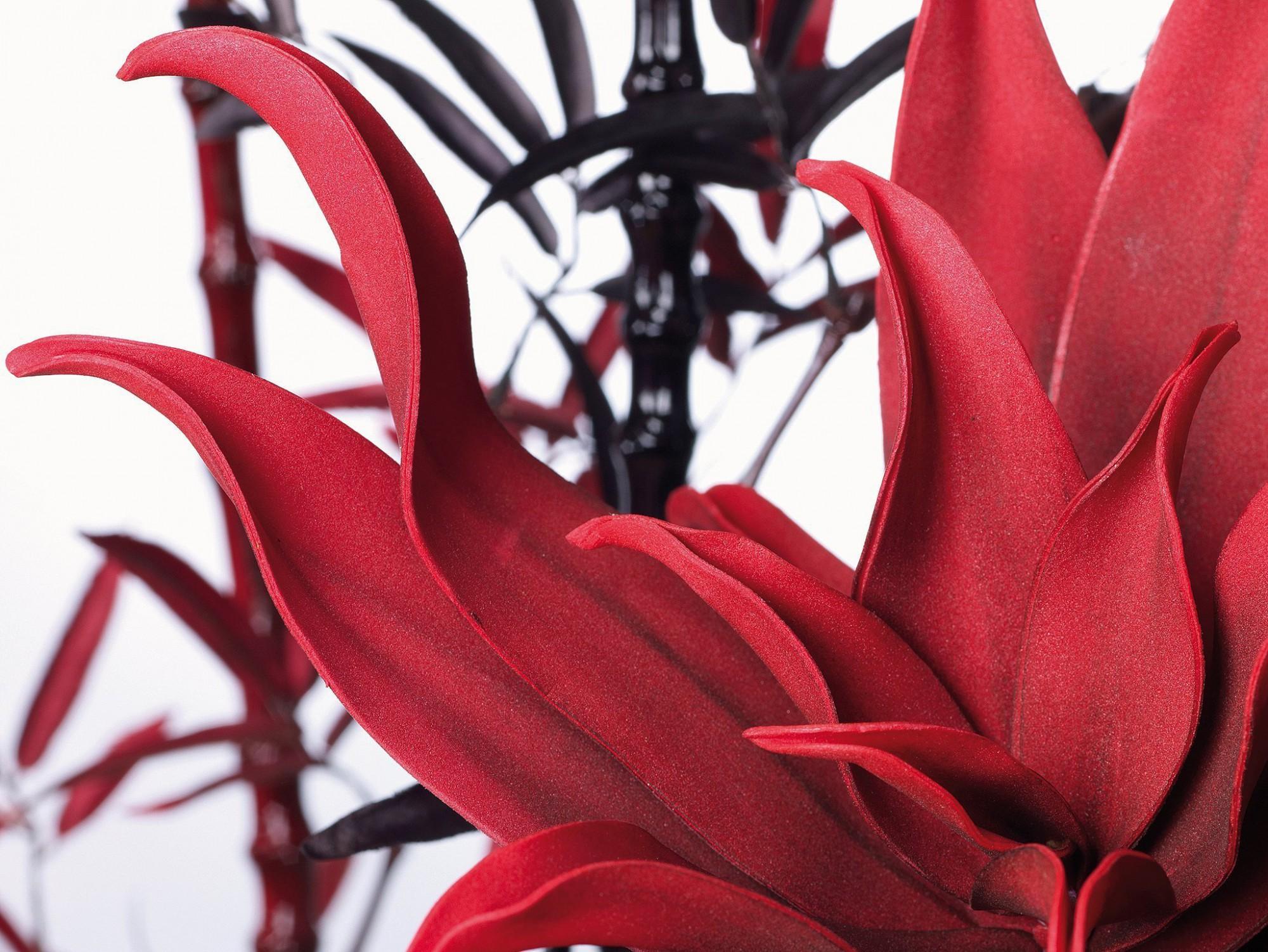 Afbeelding: Studio fotografie, kunststof bloemen voor DV/D'sign.