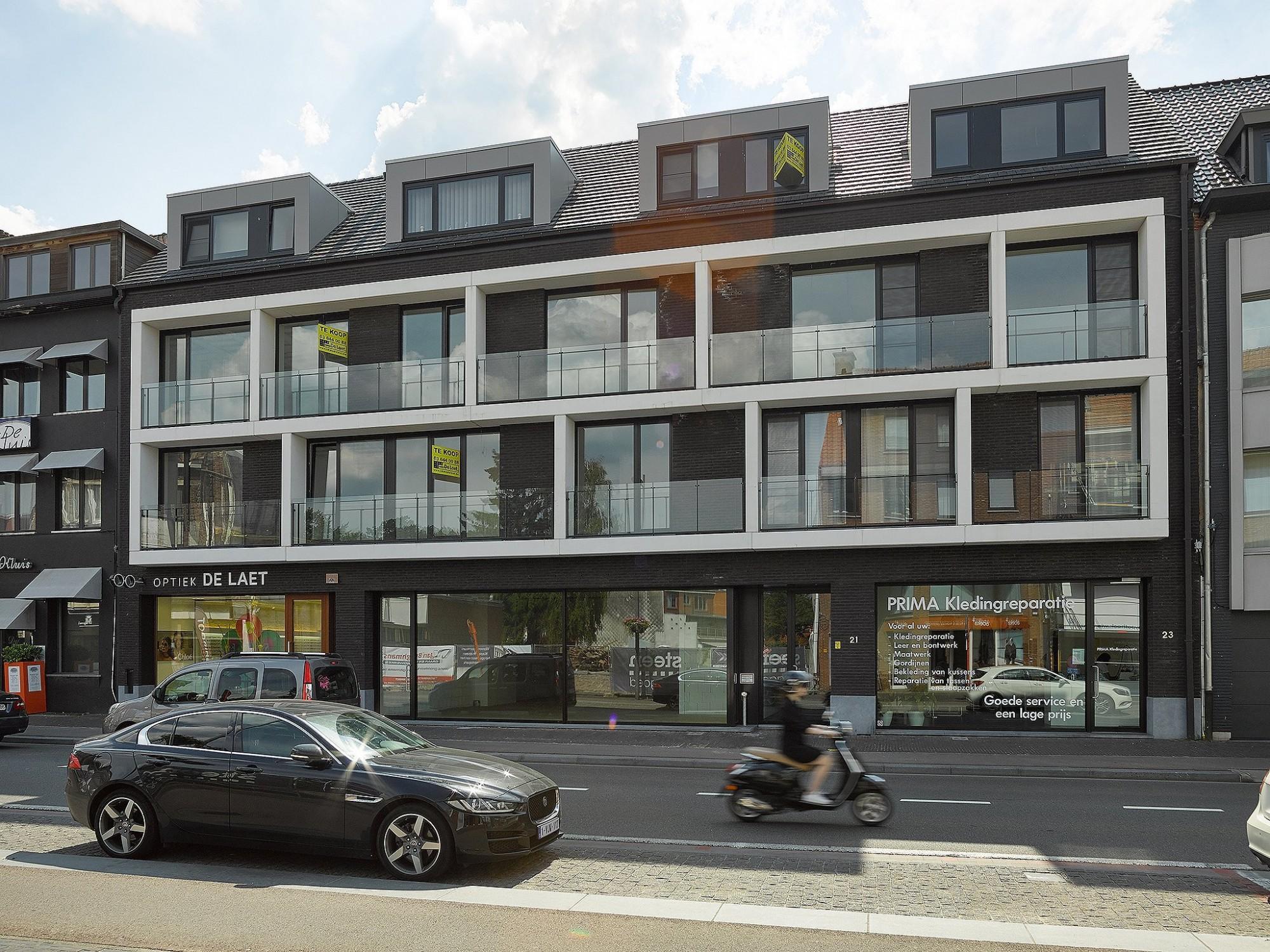 Afbeelding: Fotografie moderne appartementen, © Mertens architecten, Foto Van Huffel.