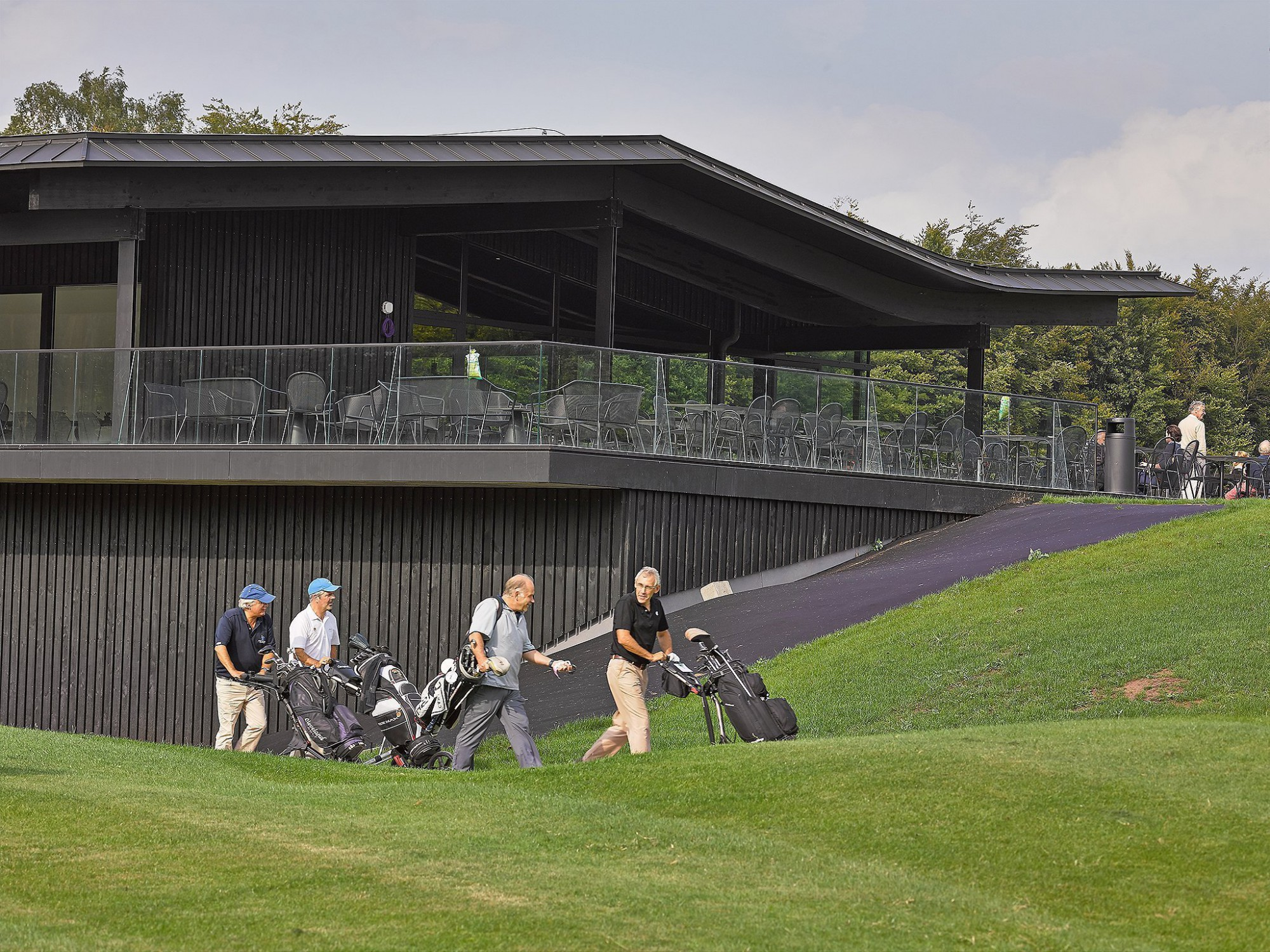 Afbeelding: Fotografie golfterrein Rinkven te Schilde, voor ASK Romein.