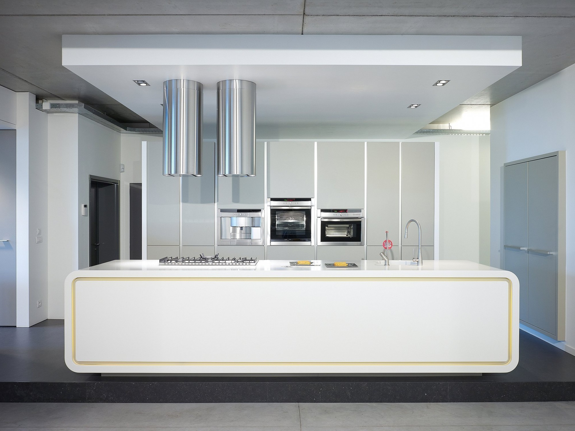 Afbeelding: Fotografie interieur keuken, toonzaal © Jansen keukens,  fotografie keukens Foto Van Huffel.