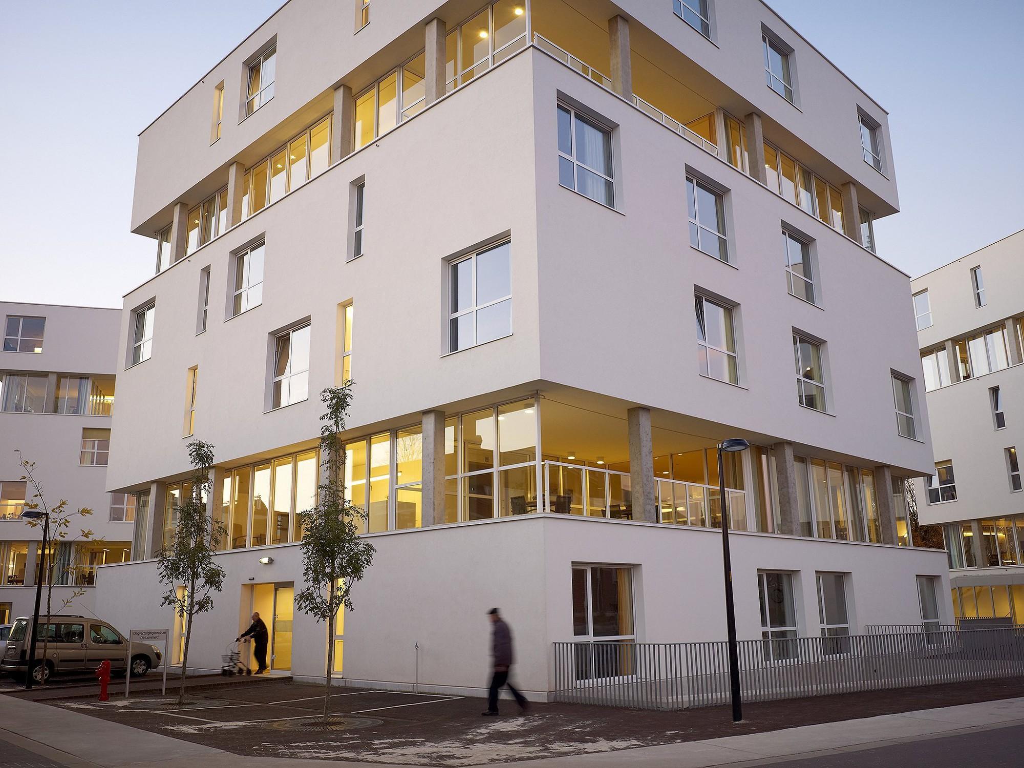 Afbeelding: Fotografie architectuur woonzorgcentrum Stede Akkers Hoogstraten,© Osar architecten, voor groep Van Roey.