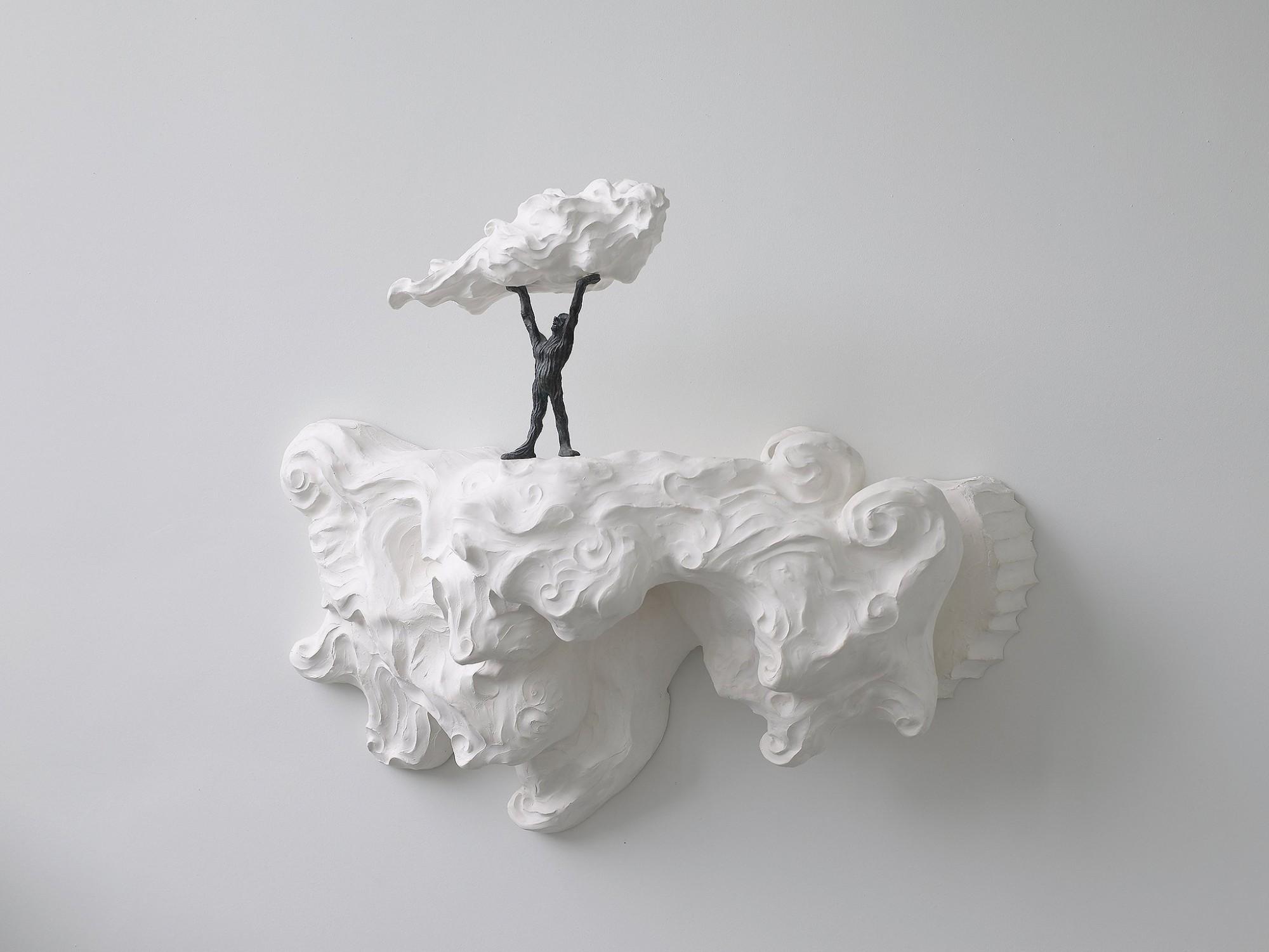Afbeelding: Sculptuur gips-brons