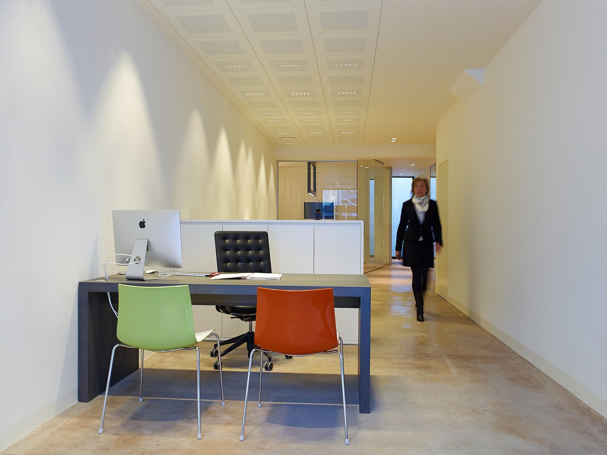 Afbeelding: Interieur fotografie kantoor te Mechelen voor Bollen & Jaeken.