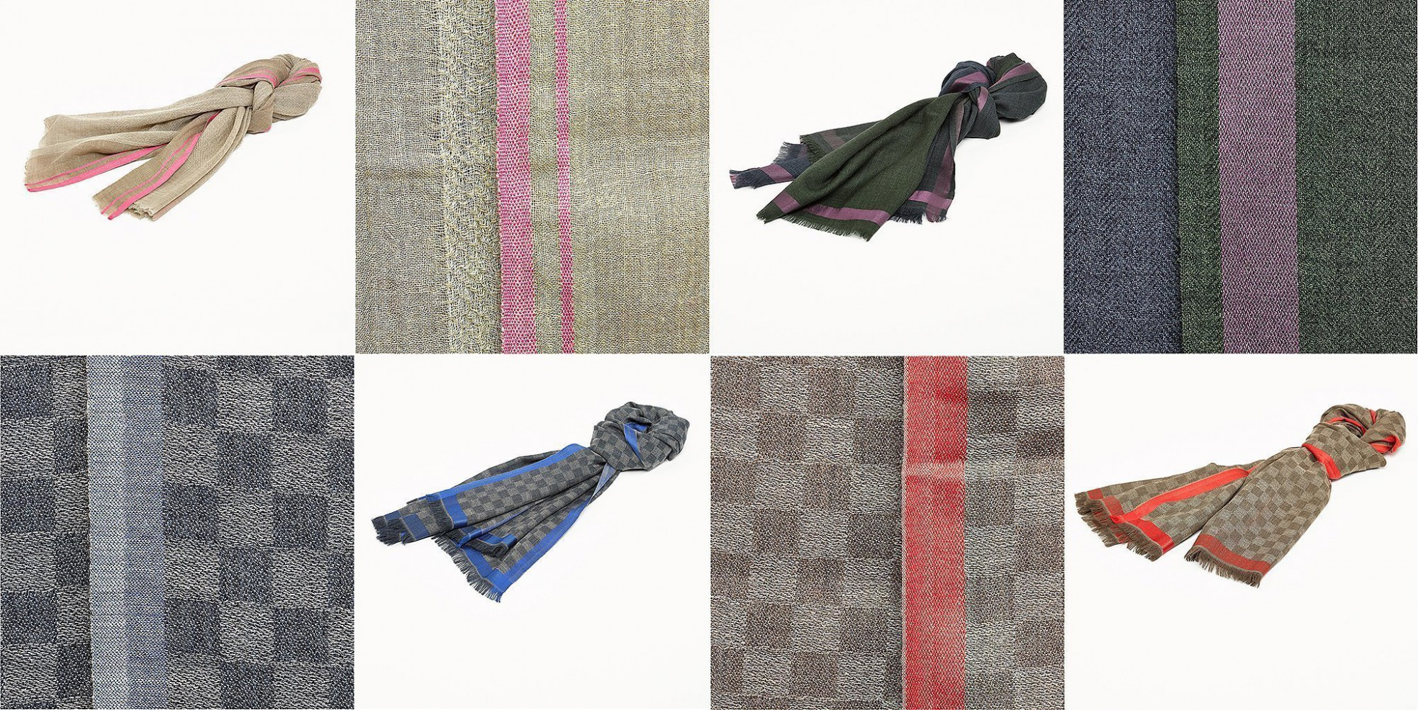 Afbeelding: Studio fotografie op locatie, packshot fotografie Foto Van Huffel, fotografie textiel sjaal en detail © Simla.