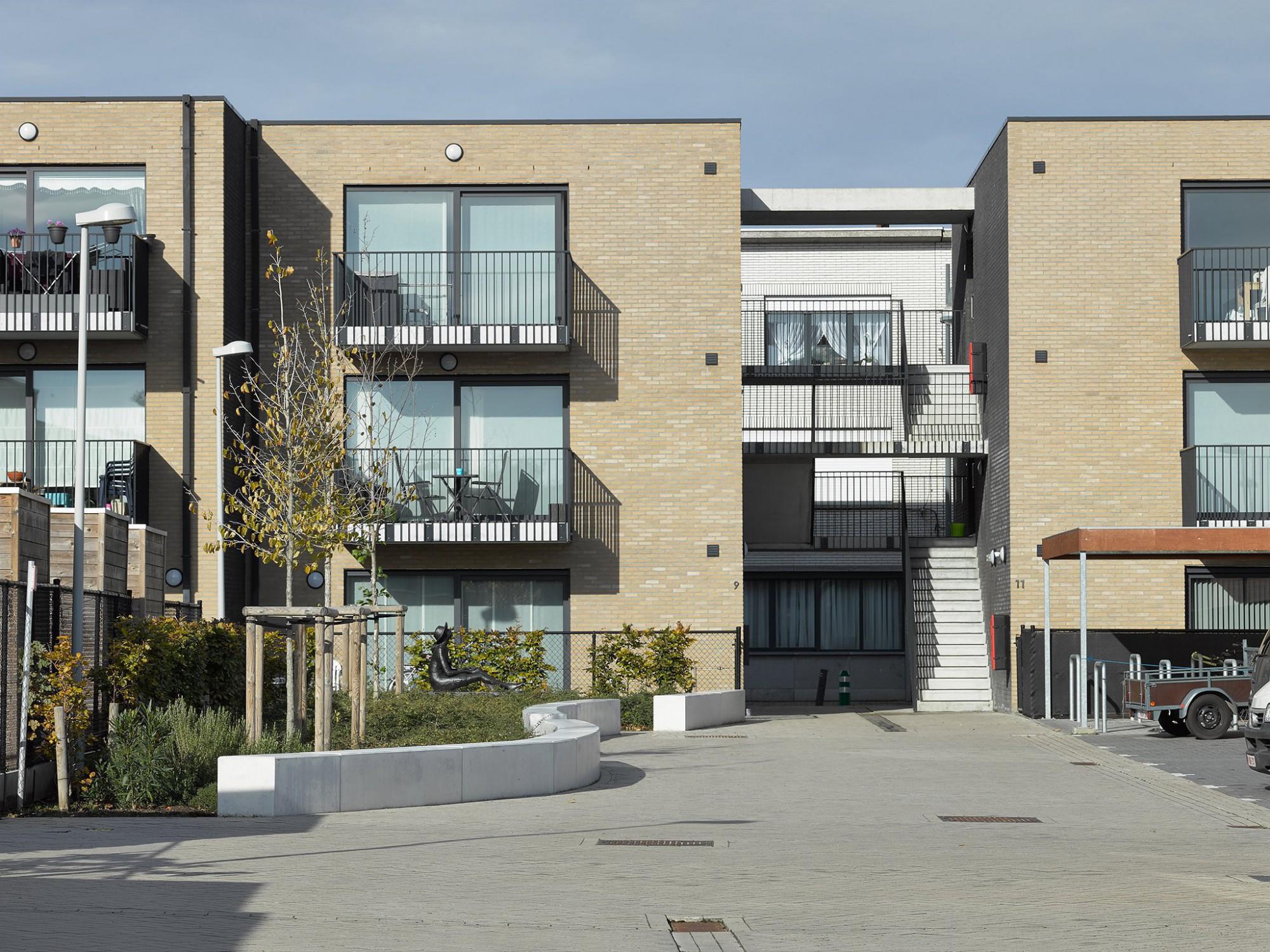 Afbeelding: Sociale appartementen voor © 3D architecten te Vrasene.