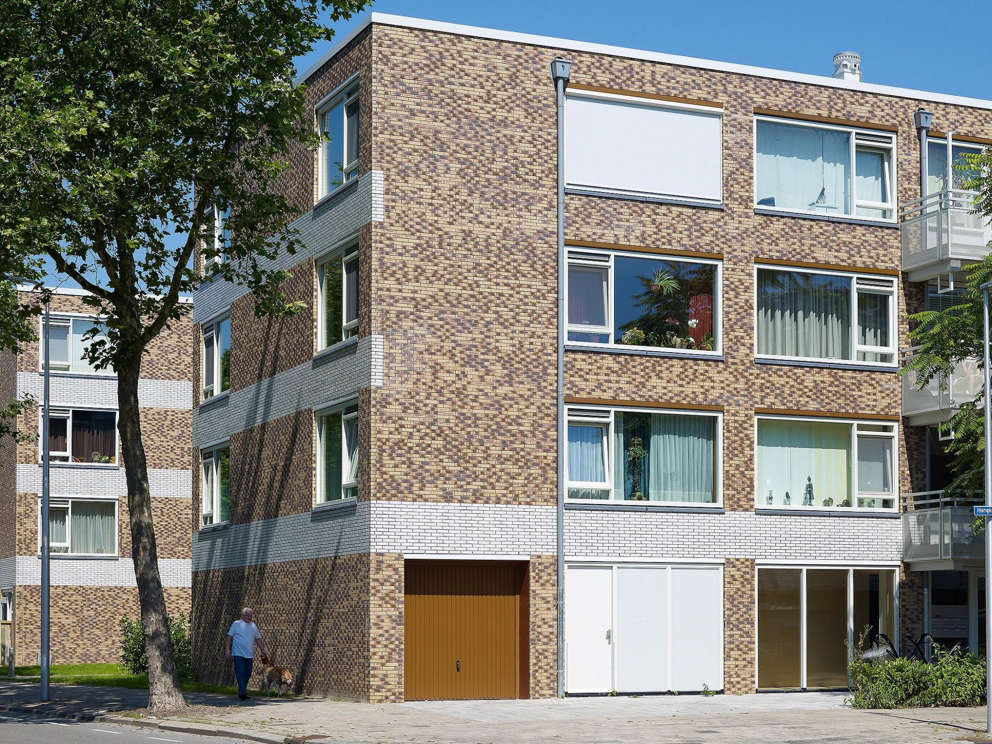 Afbeelding: Architectuur fotografie renovatie, appartementen-woonwijk Utrecht, voor steenbakkerij Desta.