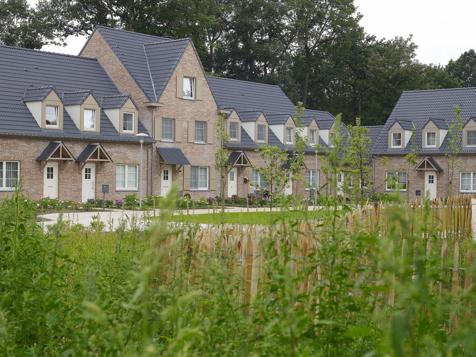 Afbeelding: Architectuur fotografie woningen Foto Van Huffel, klassiek woonproject Parkzicht te Lille, voor bouwonderneming RDK