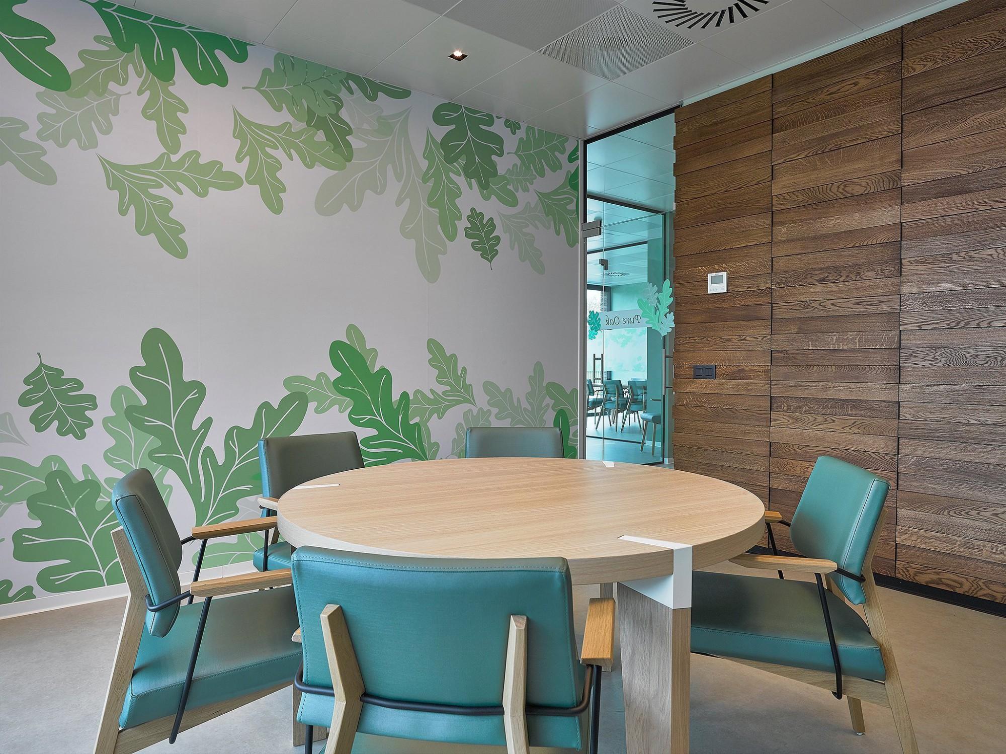 Afbeelding: Interieur fotografie vergaderruimte te Essen © voor Mertens architecten.