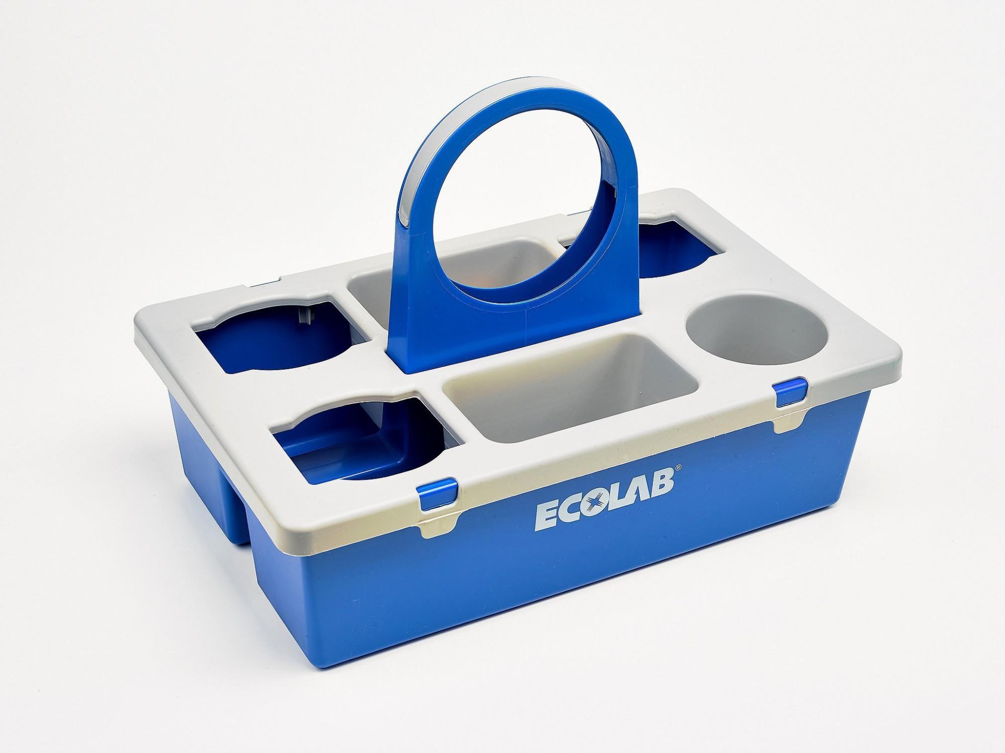 Afbeelding: Studio fotografie packshot kuisproducten voor Ecolab.