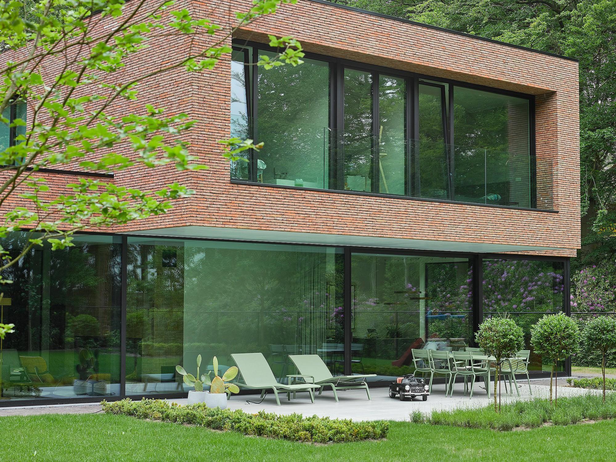 Afbeelding: Architectuur fotografie woningen voor © mertens architecten, architectuurfotograaf Foto Van Huffel.