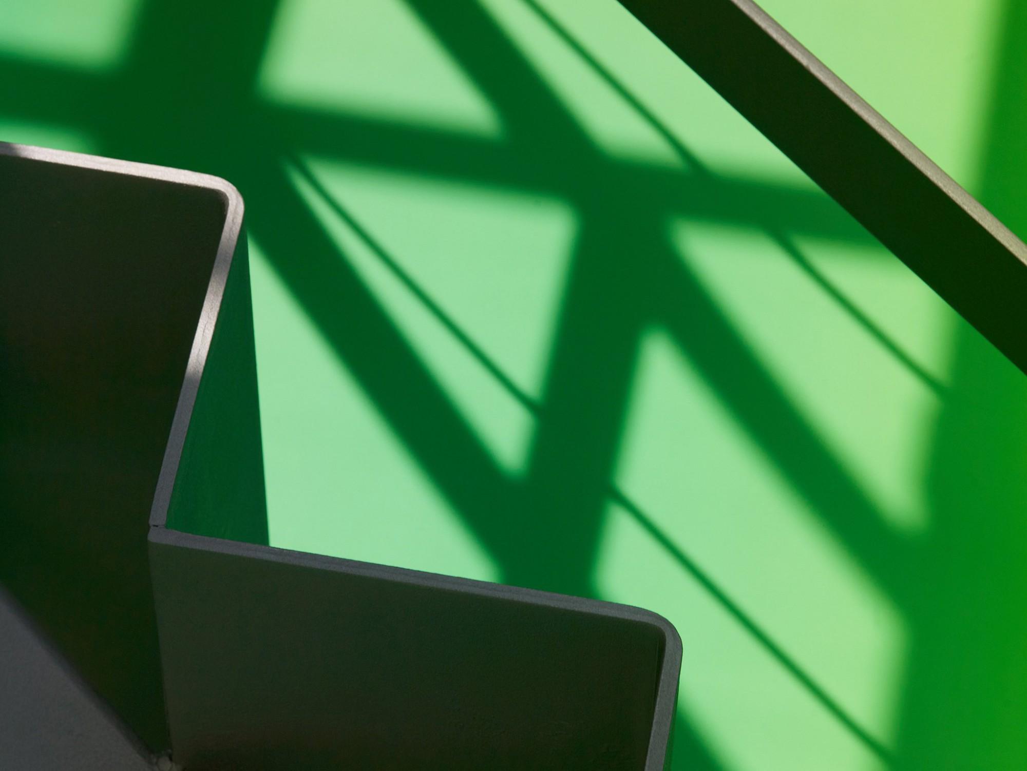 Afbeelding: Fotografie interieur detail trap te Mal voor © BVV architecten, interieurfotograaf Foto Van Huffel.