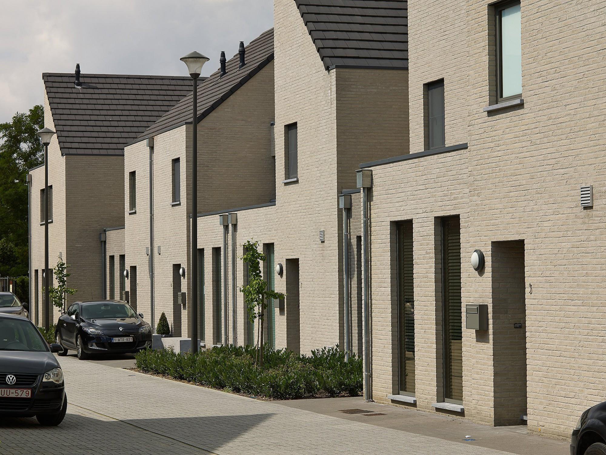 Afbeelding: Fotografie architectuur sociale woningen, Bella Terra, voor bouwonderneming Fransen.