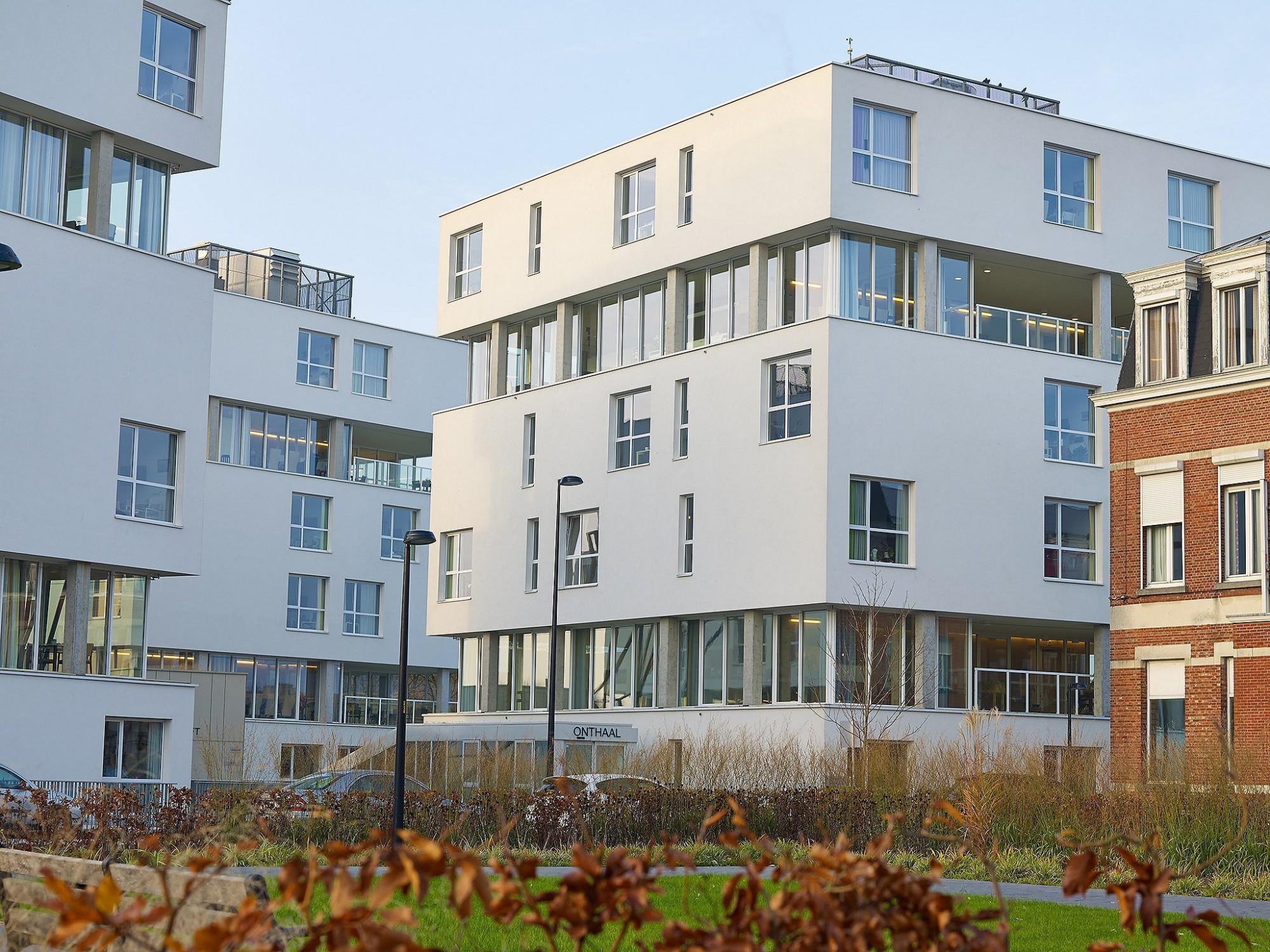Afbeelding: Fotografie architectuur Foto Van Huffel, woonzorgcentrum Stede Akkers Hoogstraten,© Osar architecten, voor Architon-groep Van Roey.