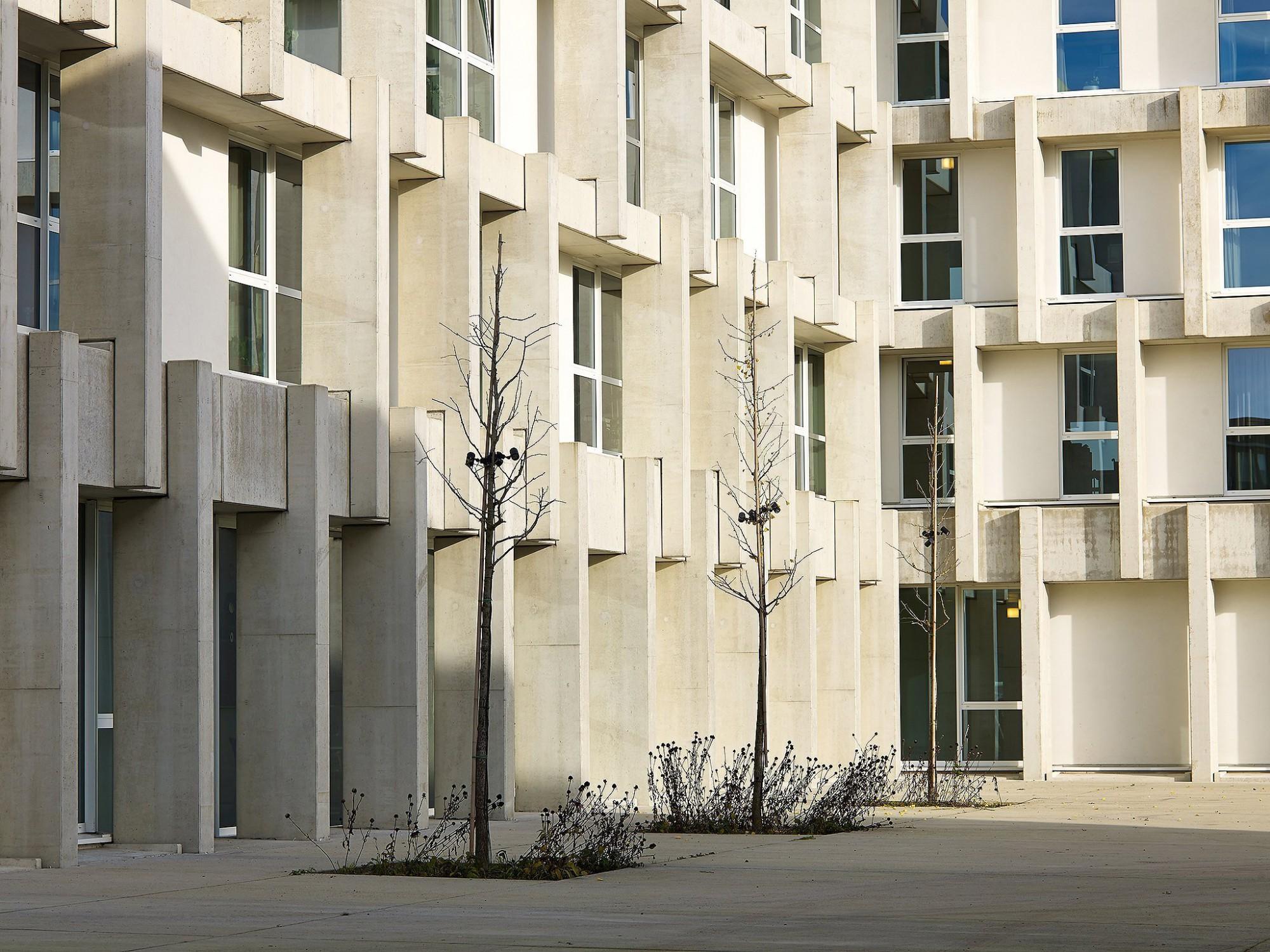 Afbeelding: Architectuur fotografie, woon-en zorgcentrum te Turnhout, voor Nys -Driesen.