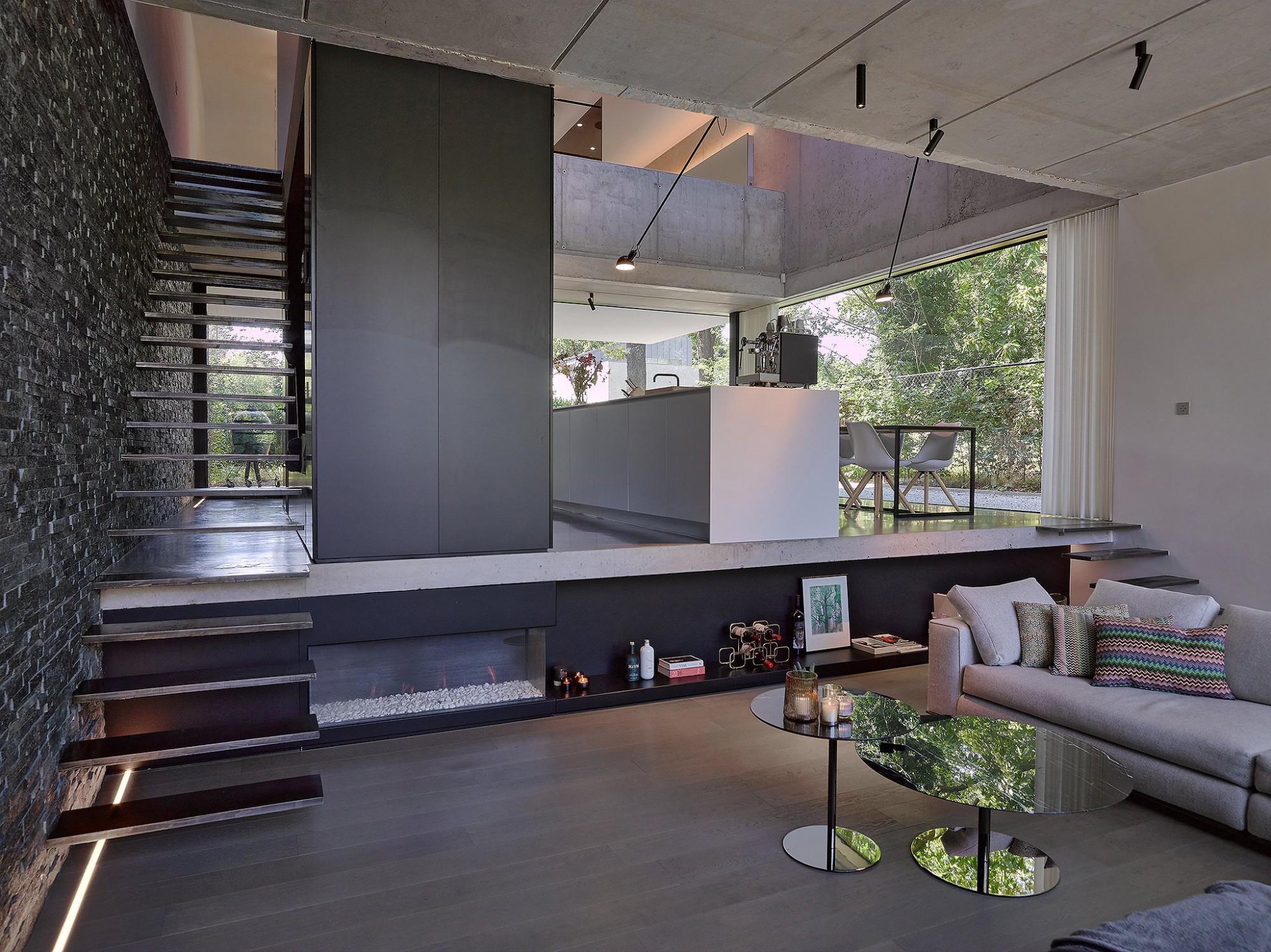 Afbeelding: Interieur fotografie woningen voor bouwwerken Bastijns, foto Van Huffel, © icoon architect