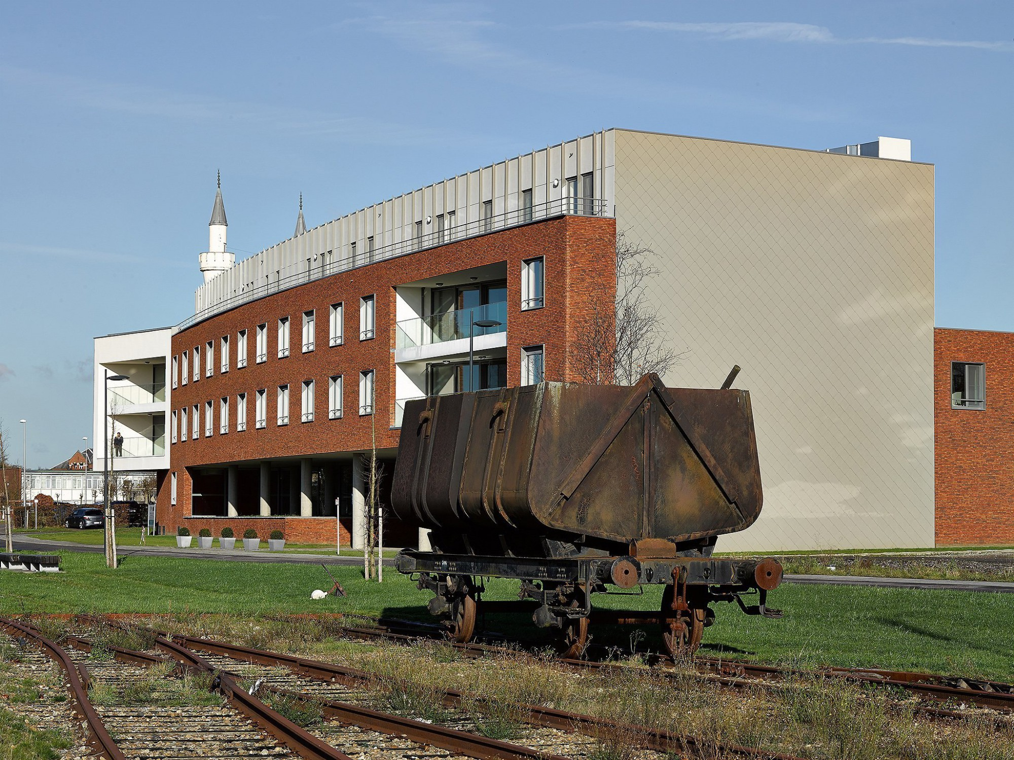 Afbeelding: Architectuur fotografie, woon-en zorgcentrum te Beringen, voor groep Van Roey.