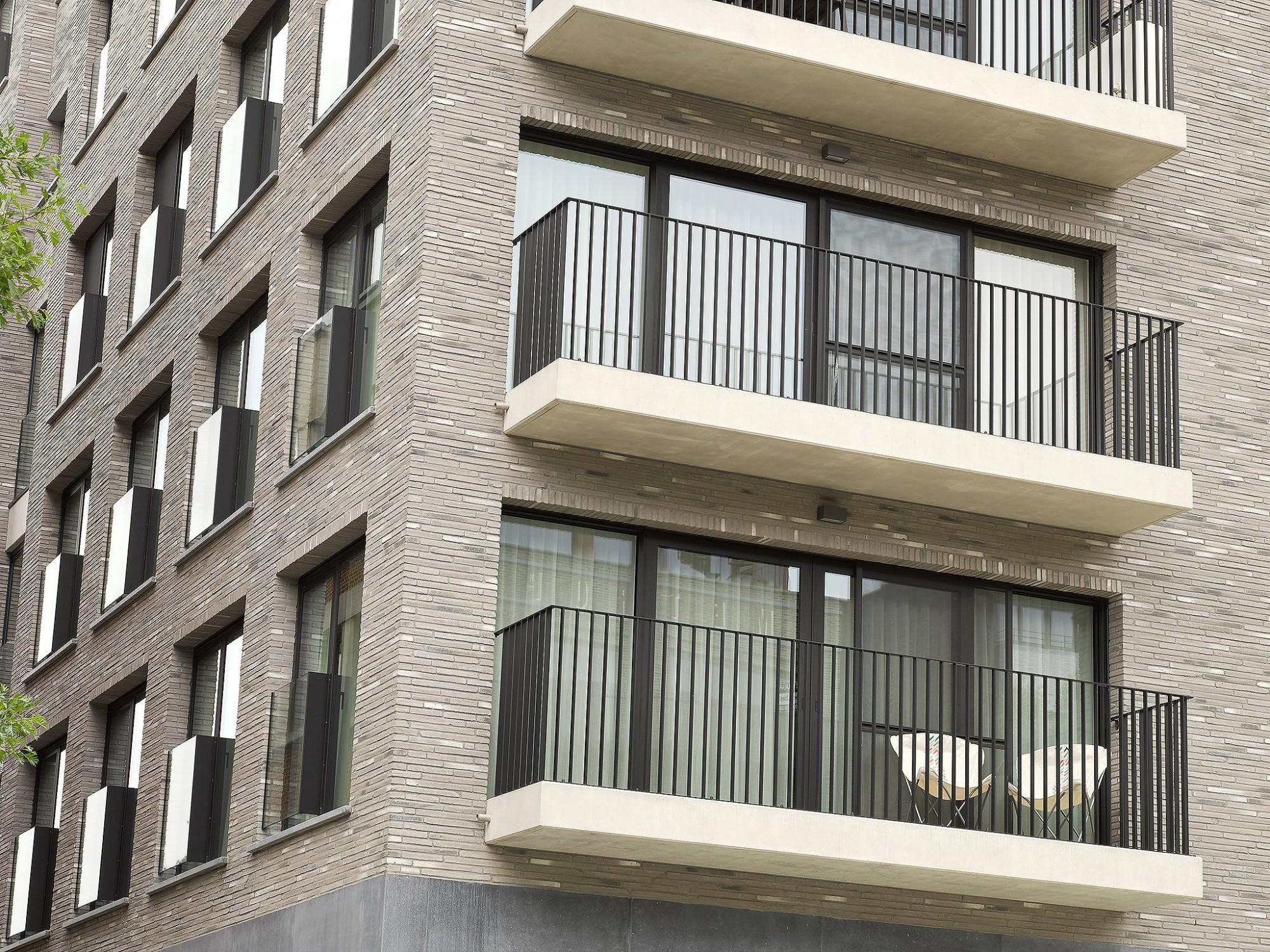 Afbeelding: Fotografie appartementen,© Mertens architecten, Foto Van Huffel.