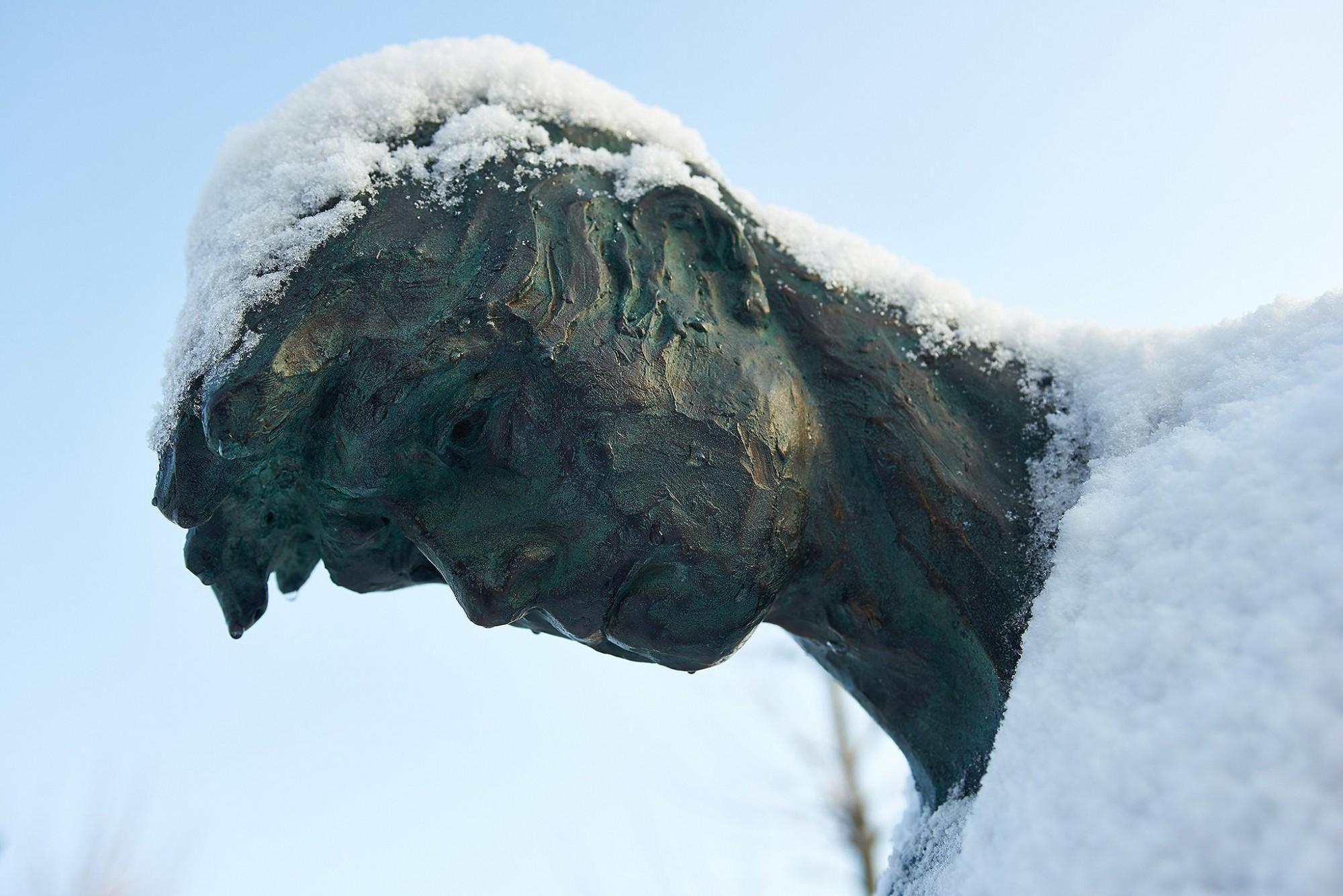 Afbeelding: Sculptuur brons - detail