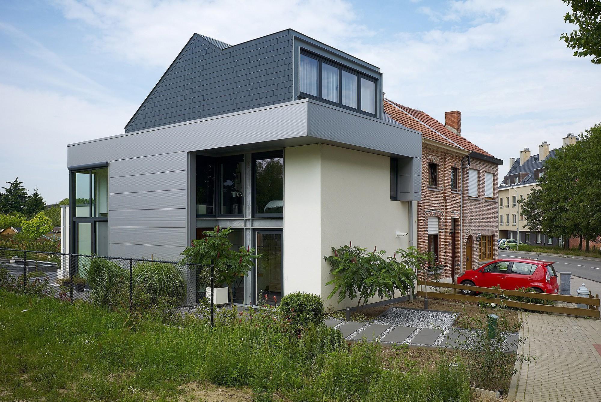 Afbeelding: Architectuur fotografie, moderne woning Boom, voor BVV architecten.