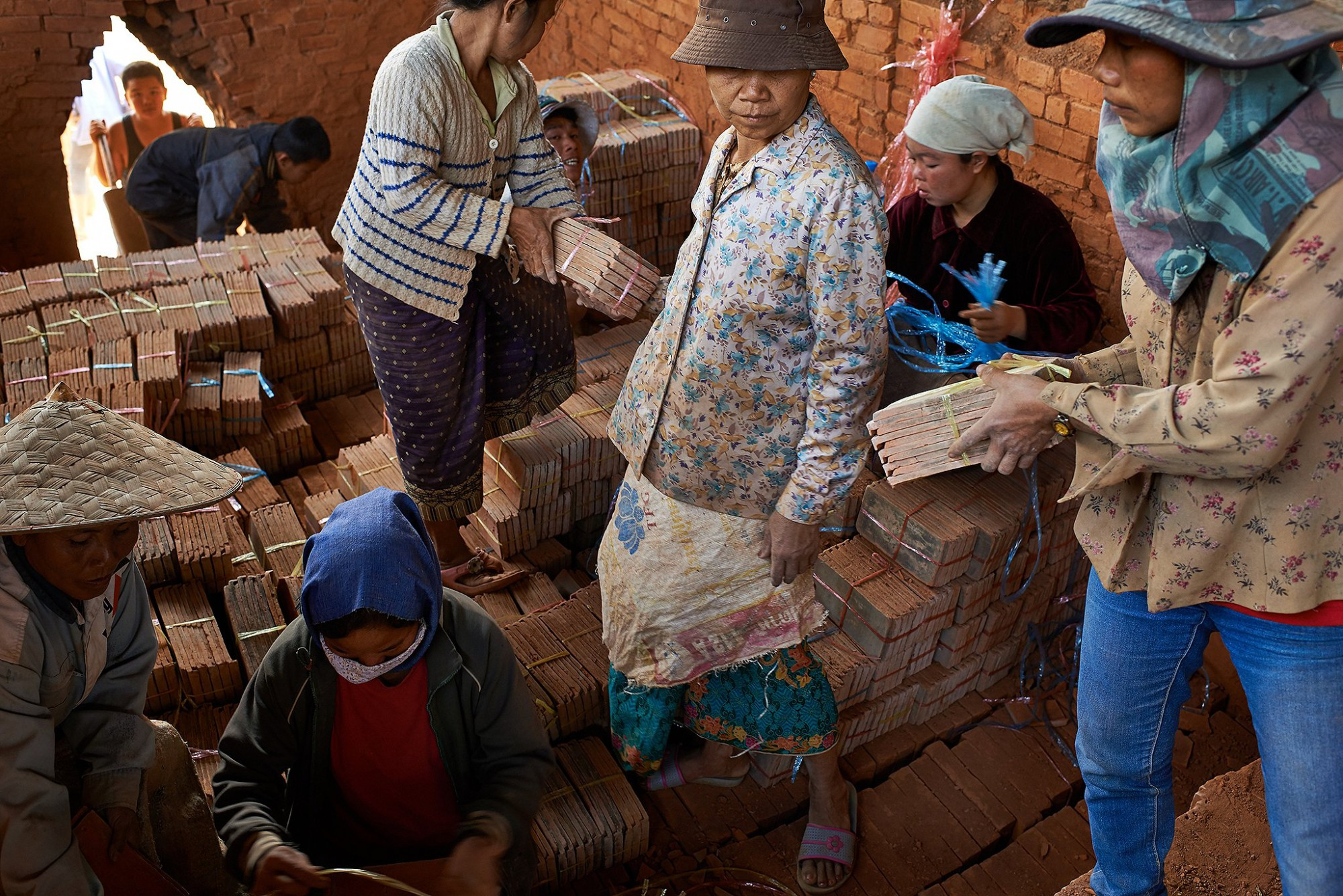 Afbeelding: Dominique Van Huffel reisreportages Laos.
