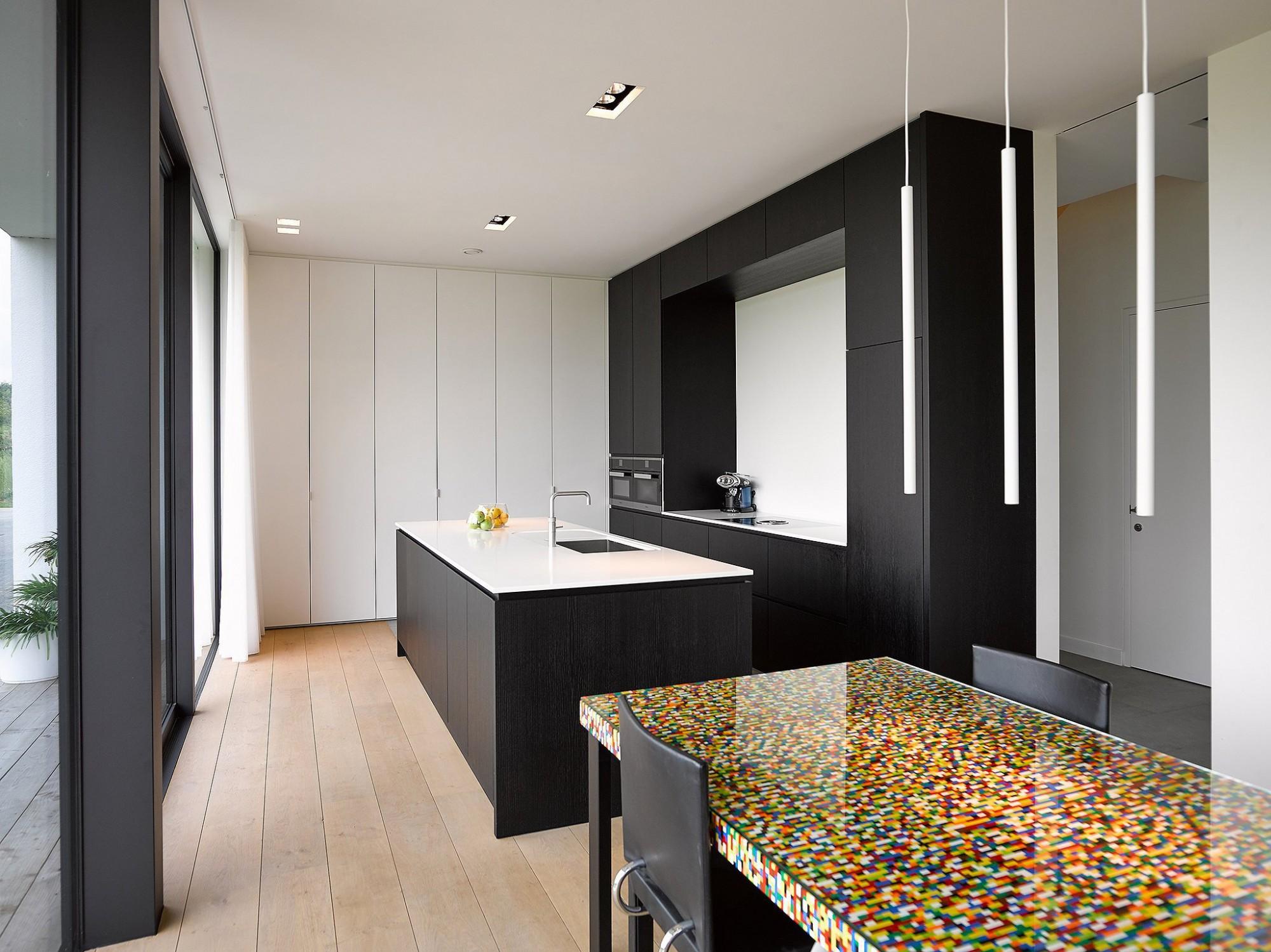 Afbeelding: Fotografie interieur keuken te Ranst voor bouwbedrijf Menbo.