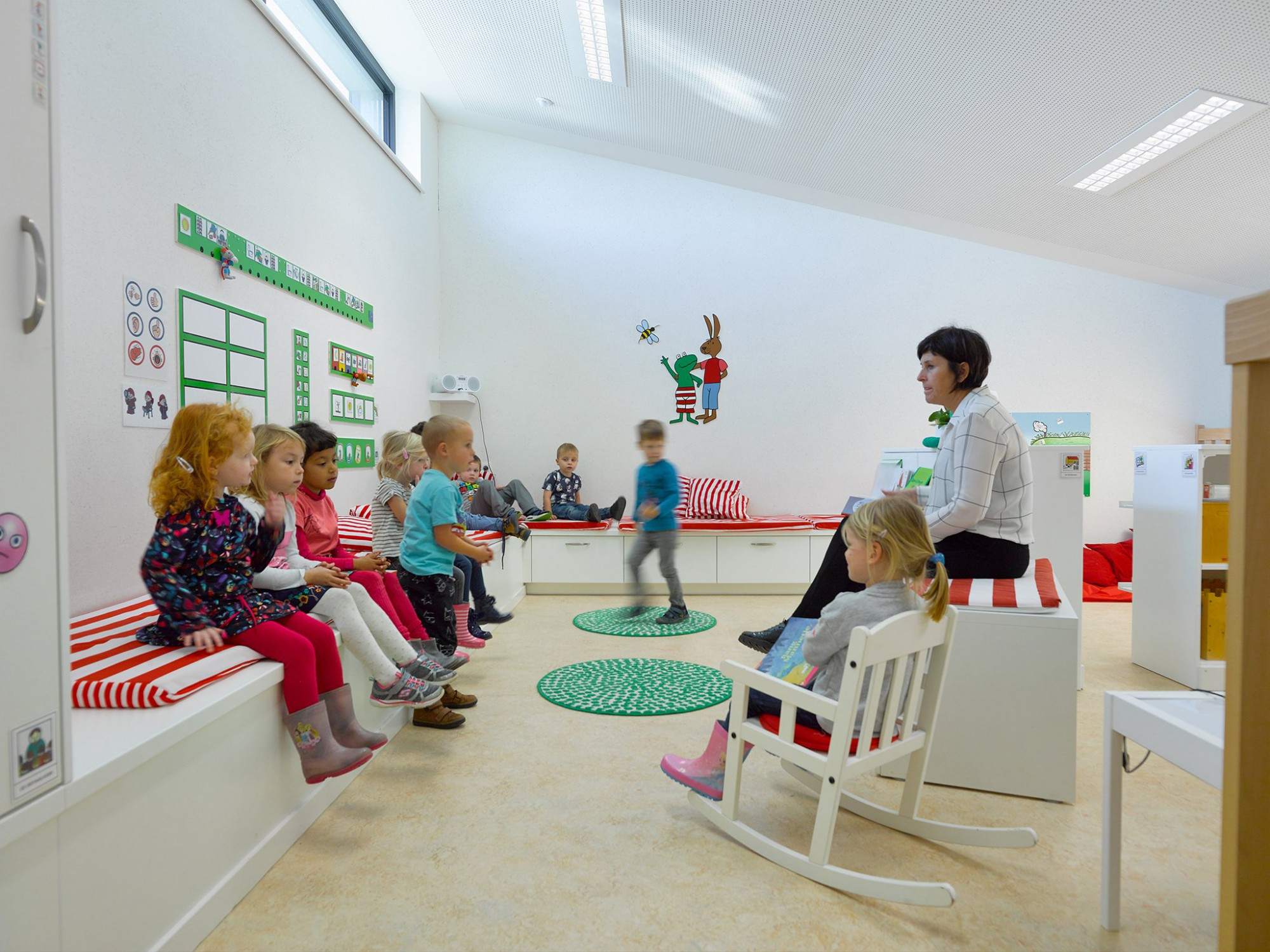 Afbeelding: Ben school te Haasdonk voor © 3D architecten.