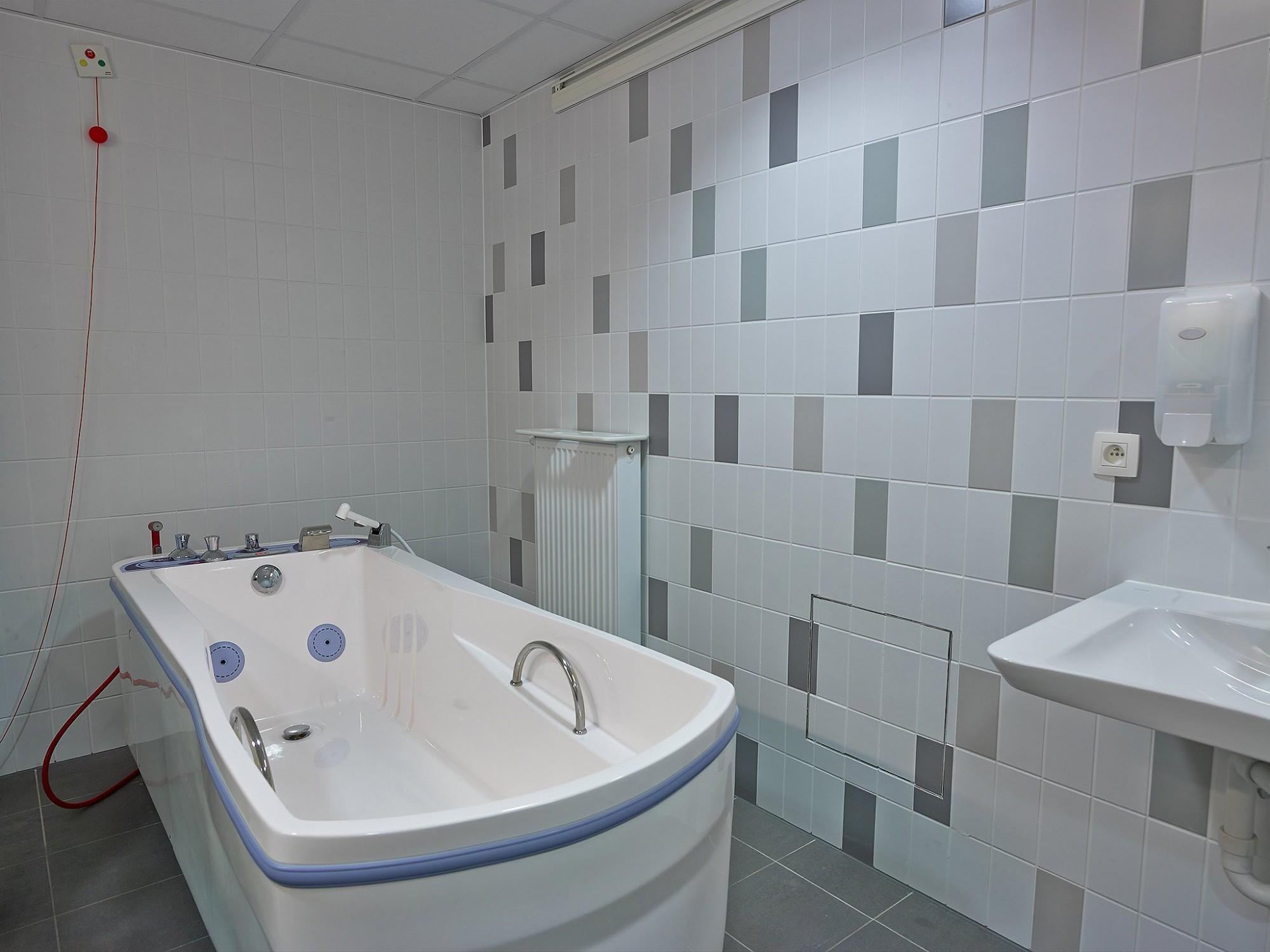 Afbeelding: Fotografie sanitaire infrastructuur woonzorgcentra te Beringen.