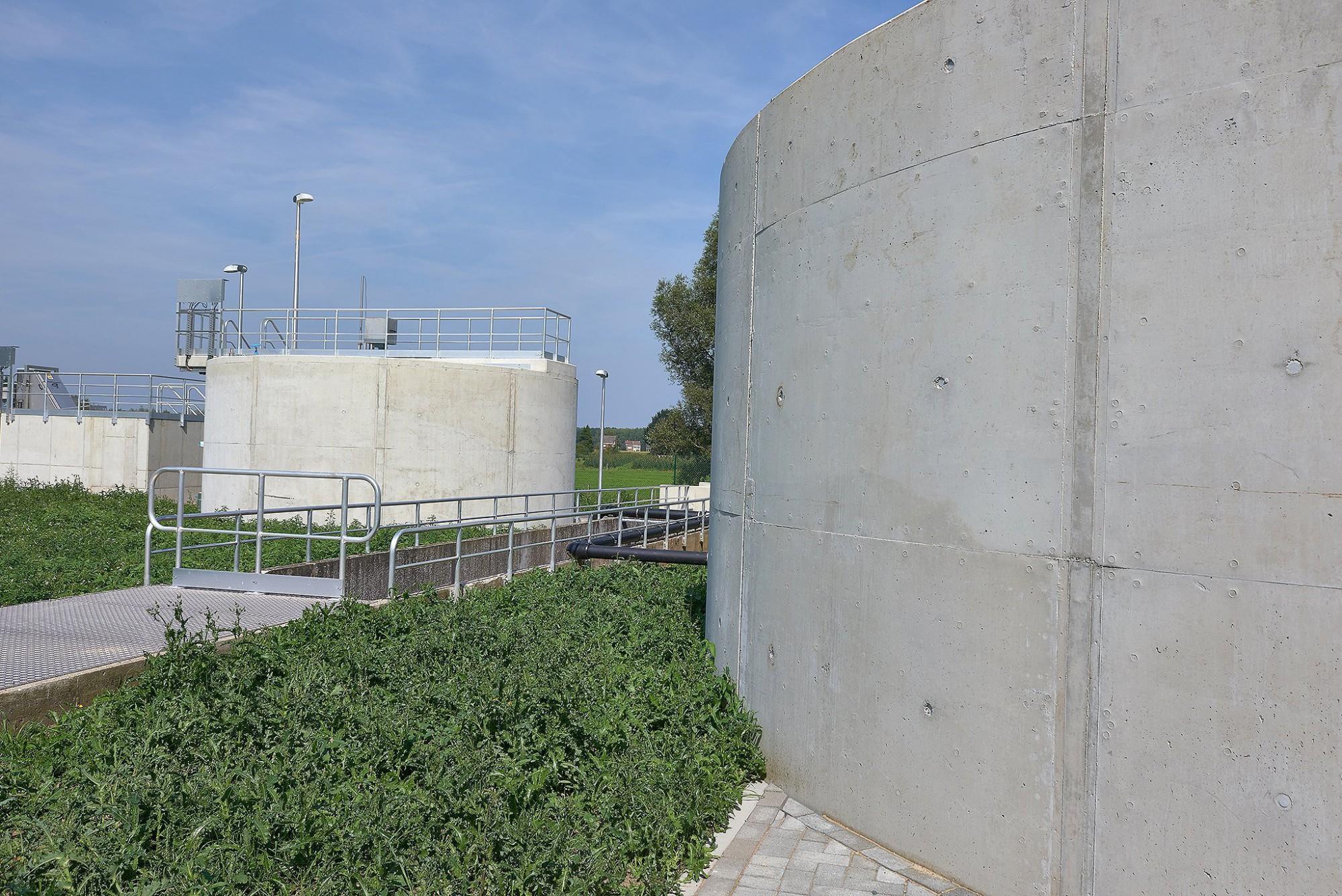 Afbeelding: Fotografie waterzuiveringsstations Hofstade, voor DCA.
