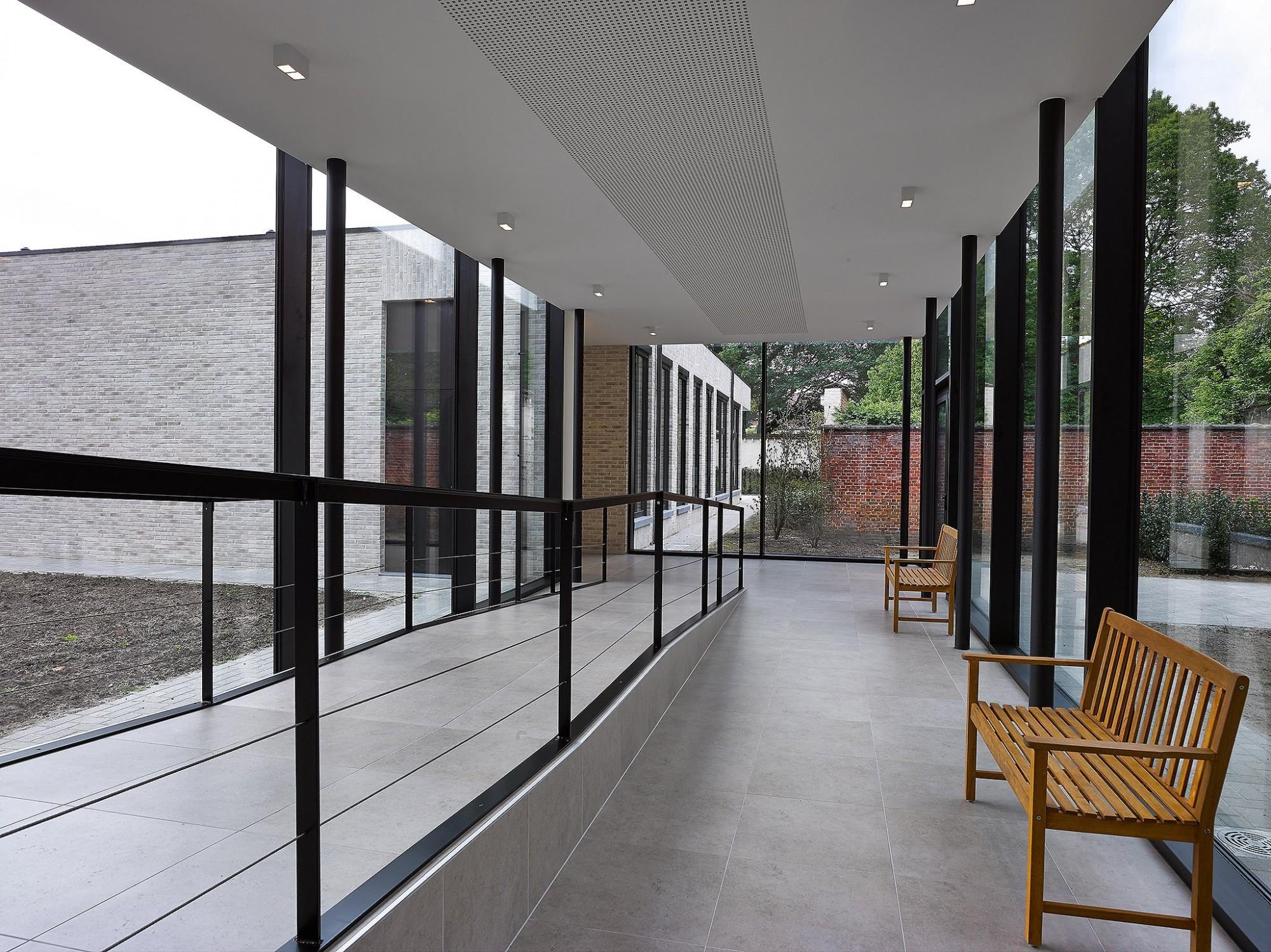 Afbeelding: Fotografie woonzorgcentra Klooster s 'Gravenwezel, voor bouwbedrijf Menbo.