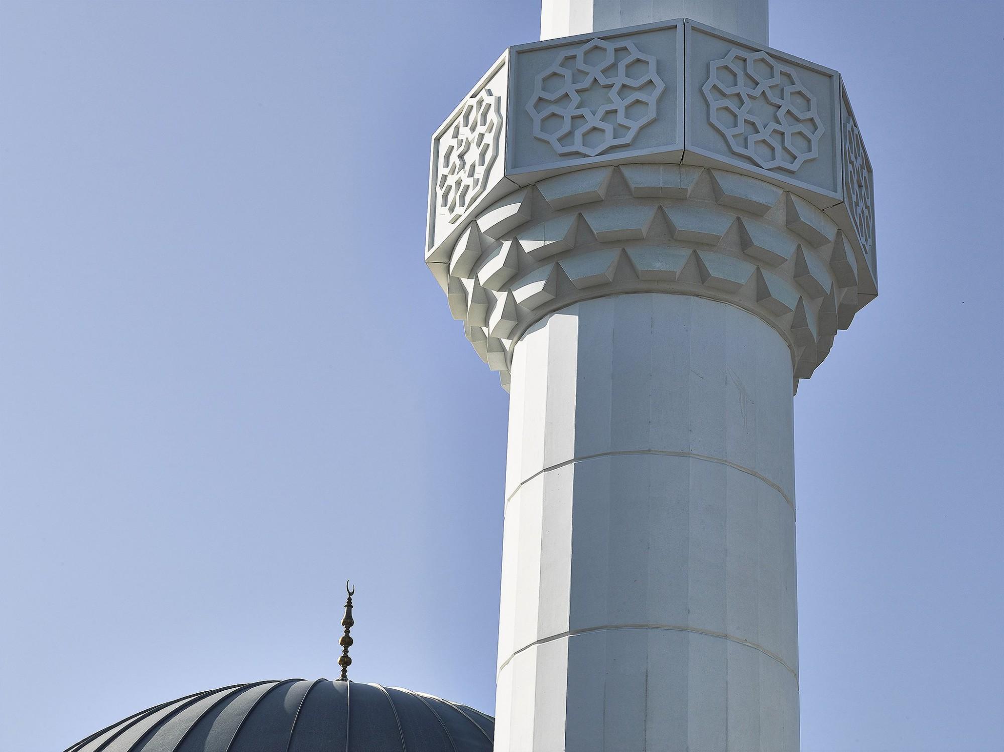 Afbeelding: Fatih moskee Winterslag, fotografie Foto Van Huffel, © Sarchis architecten