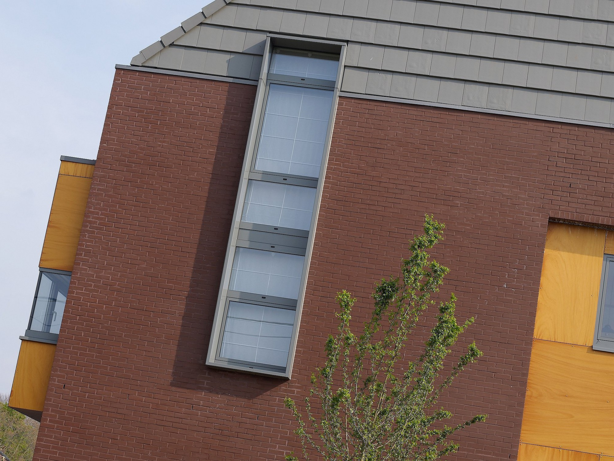Afbeelding: Architectuur fotografie, detail uit moderne woning te Brecht, voor © architect Bert Verbeek.