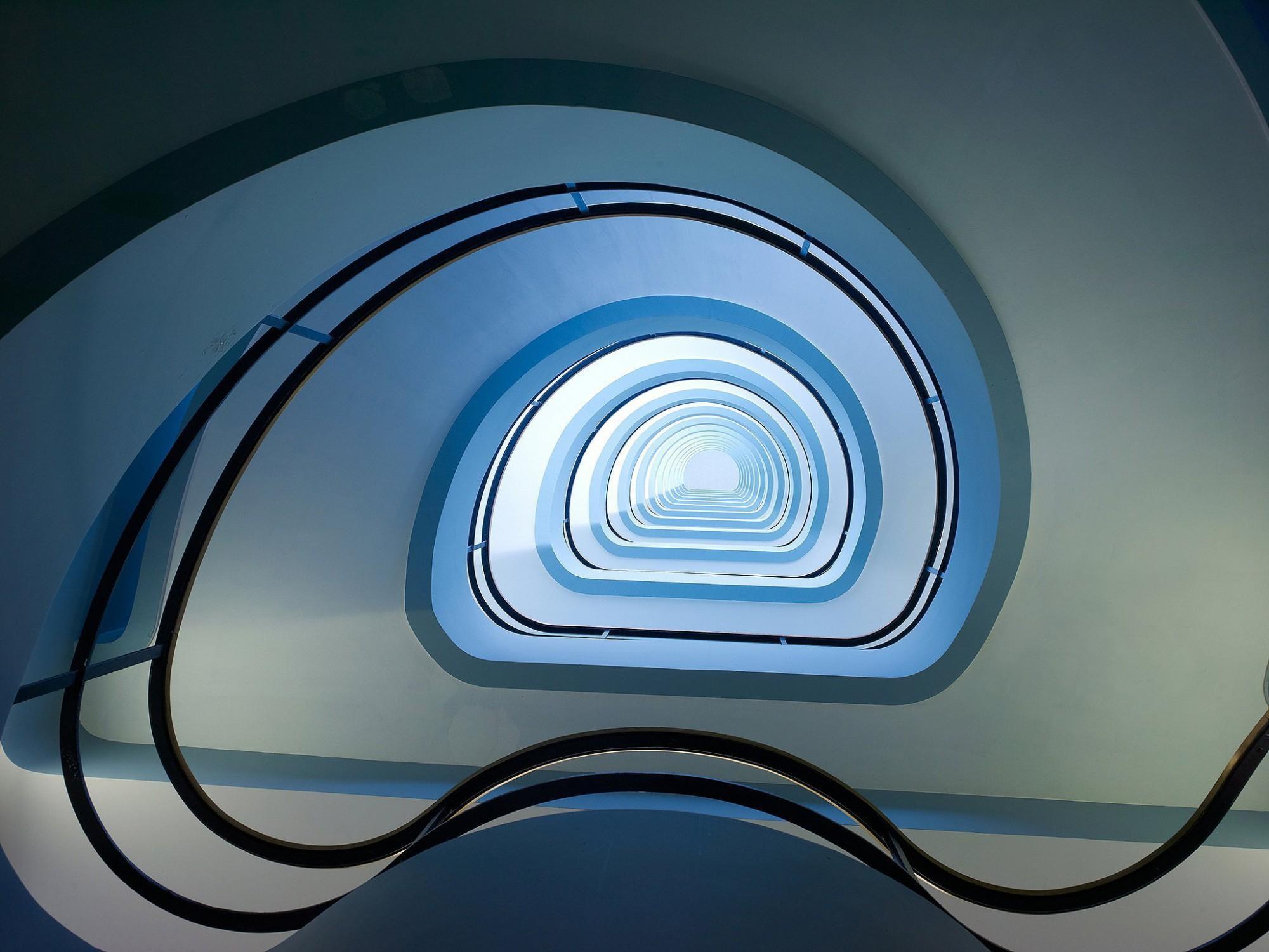 Afbeelding: Architectuur fotografie renovatie, Alcatel stad Antwerpen, voor TVH Van Roey - Vooruitzicht.