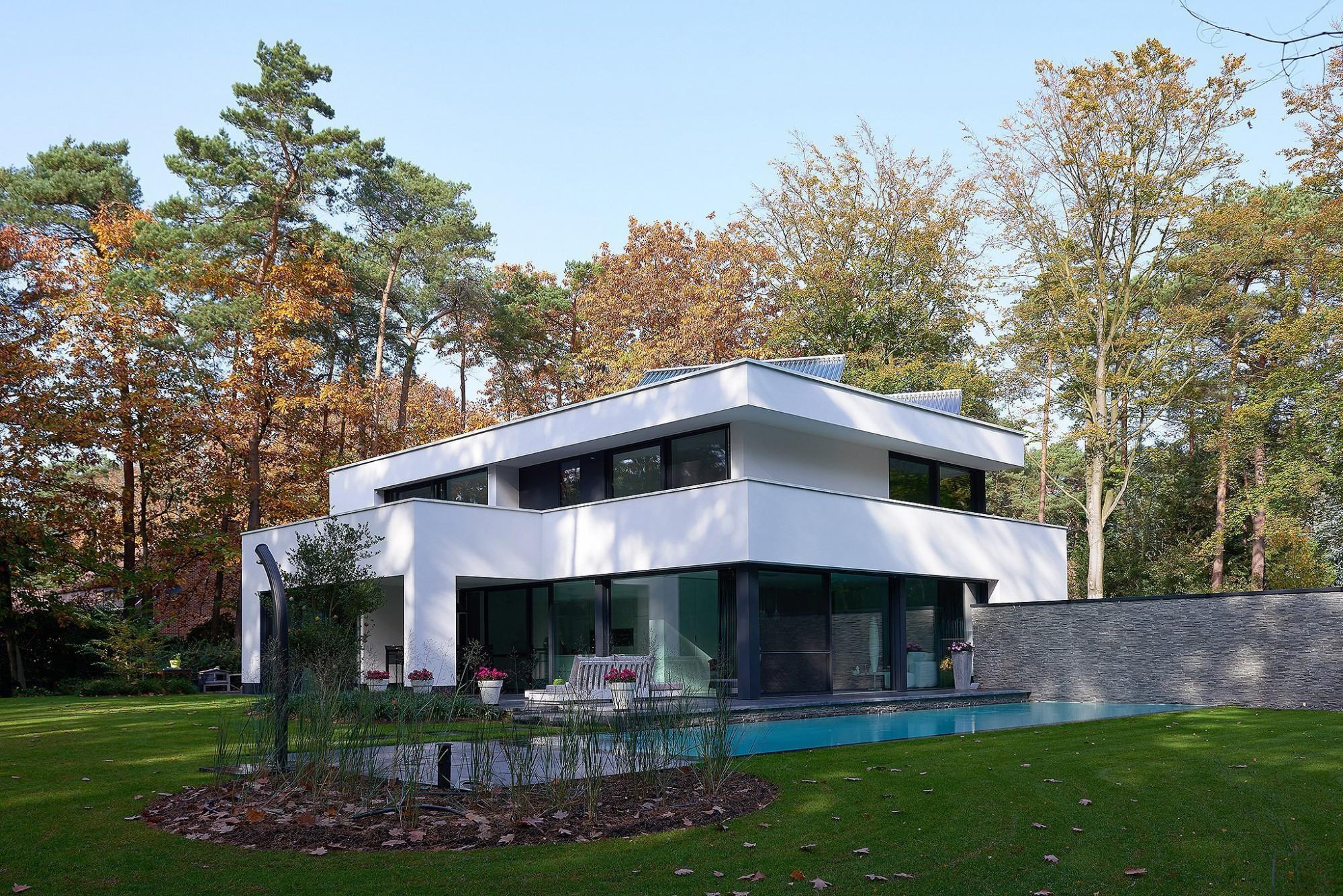 Afbeelding: Architectuur fotografie, moderne woning Kapellen.