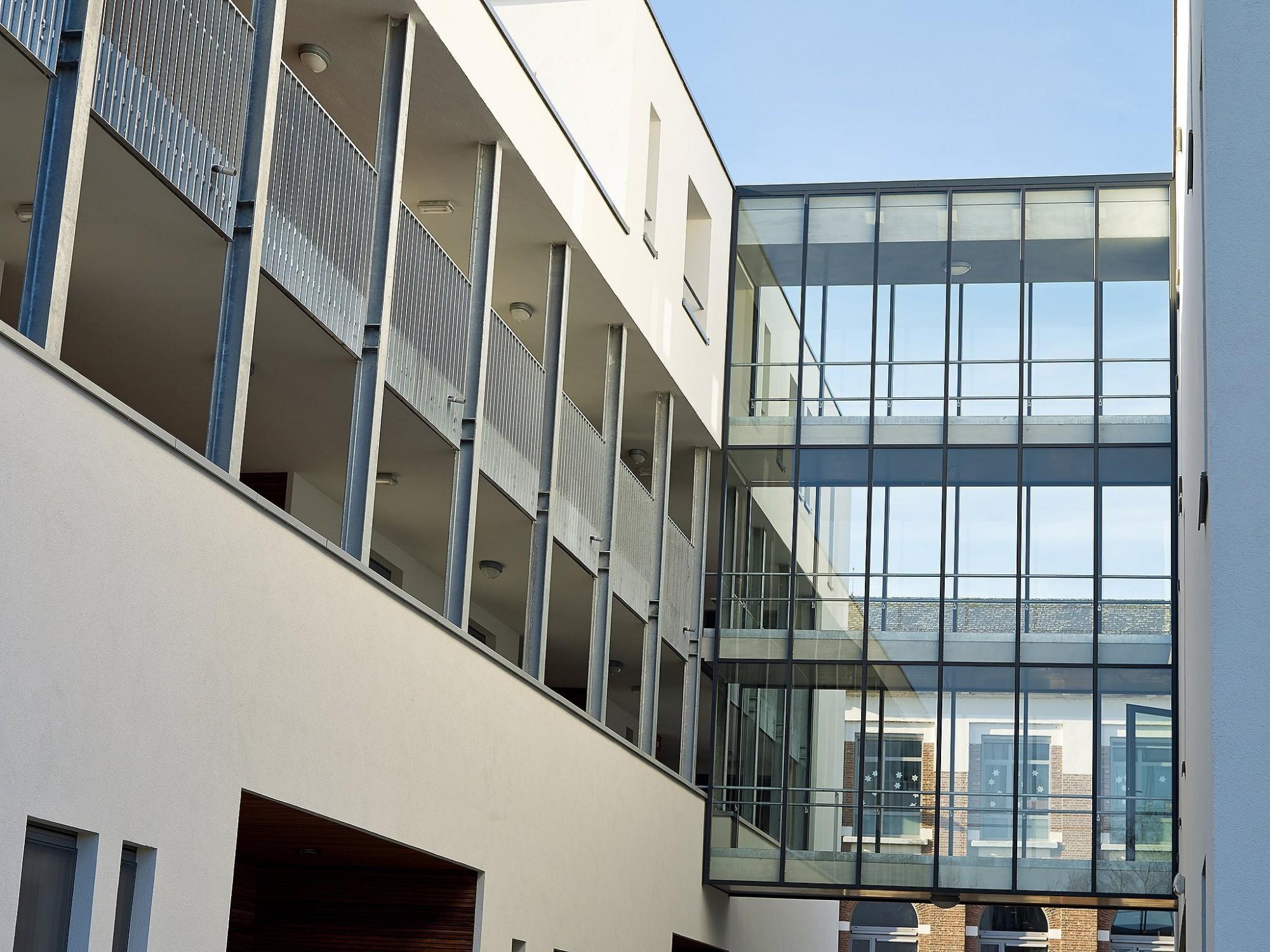 Afbeelding: Architectuur fotografie, woon-en zorgcentrum te Duffel, voor groep Van Roey.