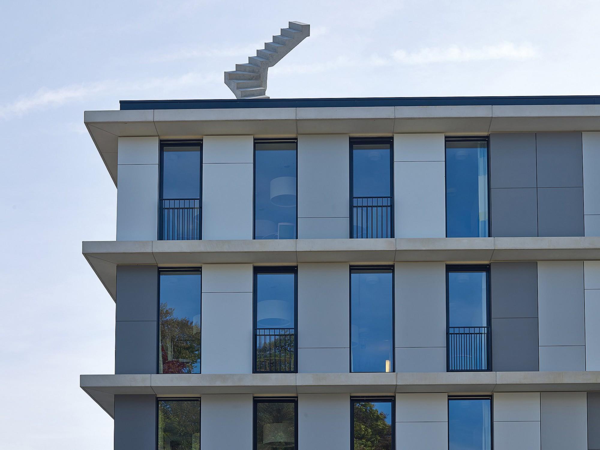 Afbeelding: Architectuur fotografie woon en zorg centra, herfstrust Belsele, voor bouwonderneming Maes.