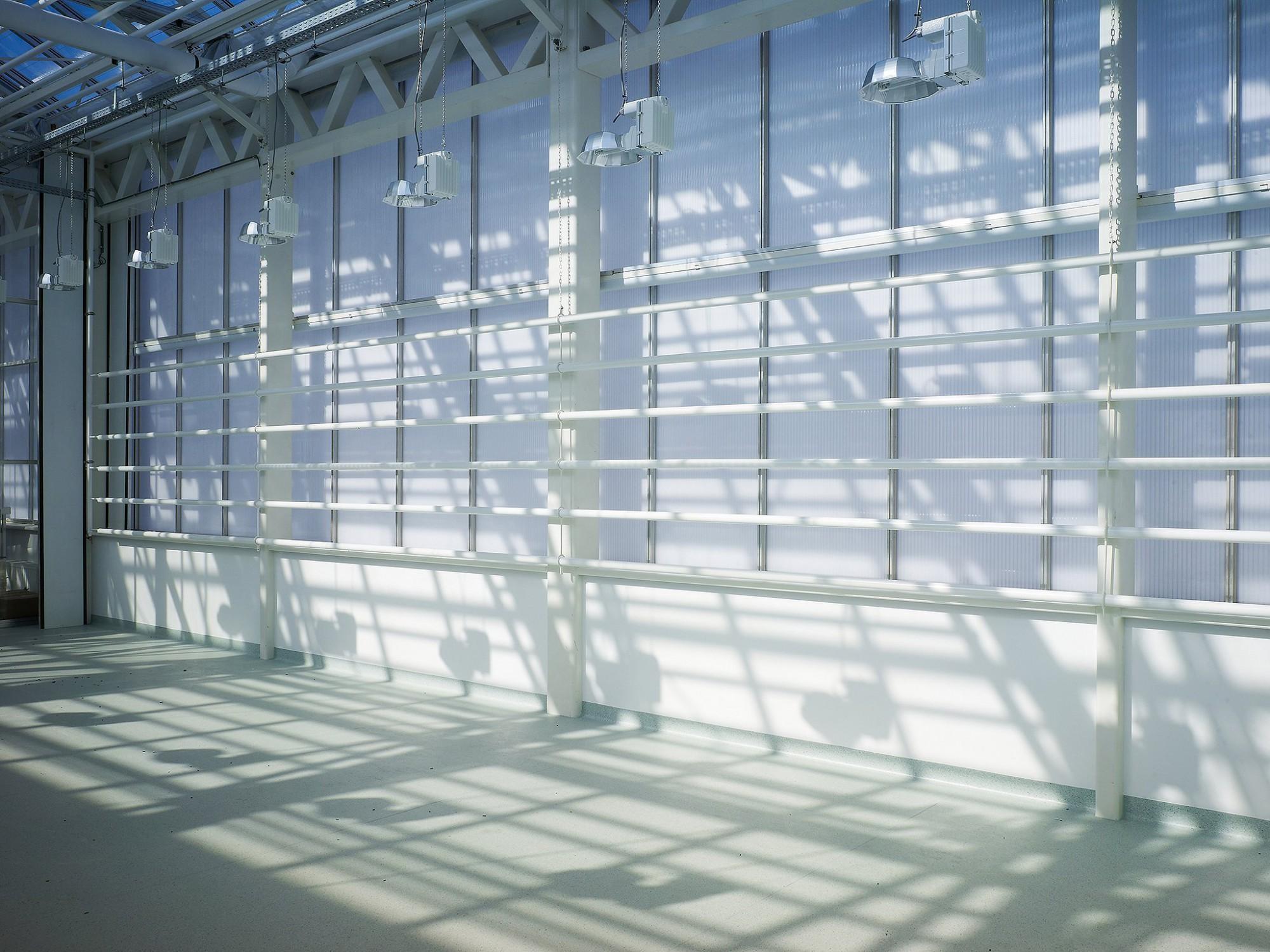 Afbeelding: Interieur fotografie industrie, uitbereiding proefruimtes VIB te Zwijnaarde, voor bouwonderneming Maes.