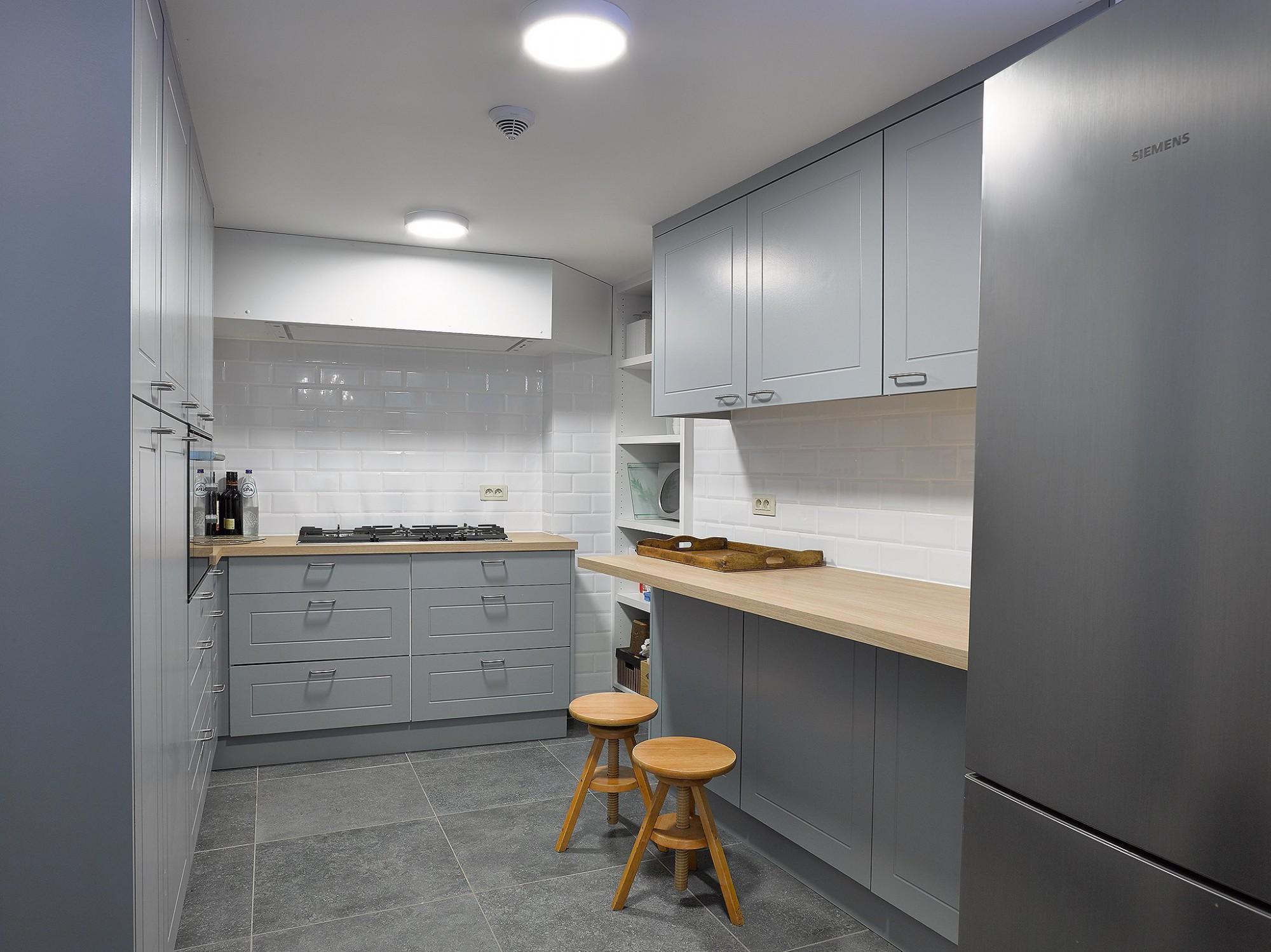 Afbeelding: Fotografie interieur keuken te Antwerpen voor bouwbedrijf Menbo,  fotografie keukens Foto Van Huffel.