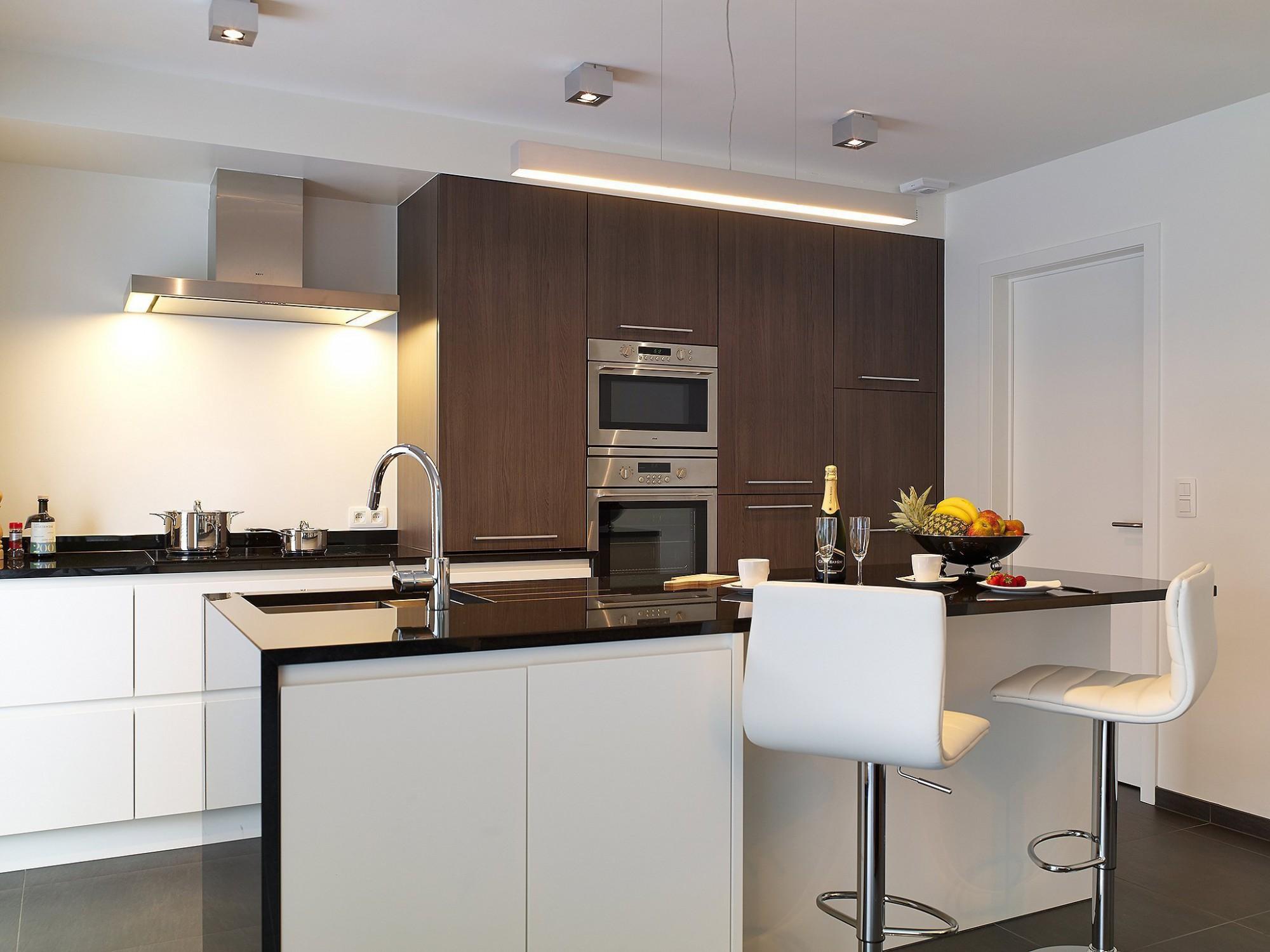 Afbeelding: Fotografie keuken modern te Asse voor © Reno Art, fotografie keukens Foto Van Huffel.
