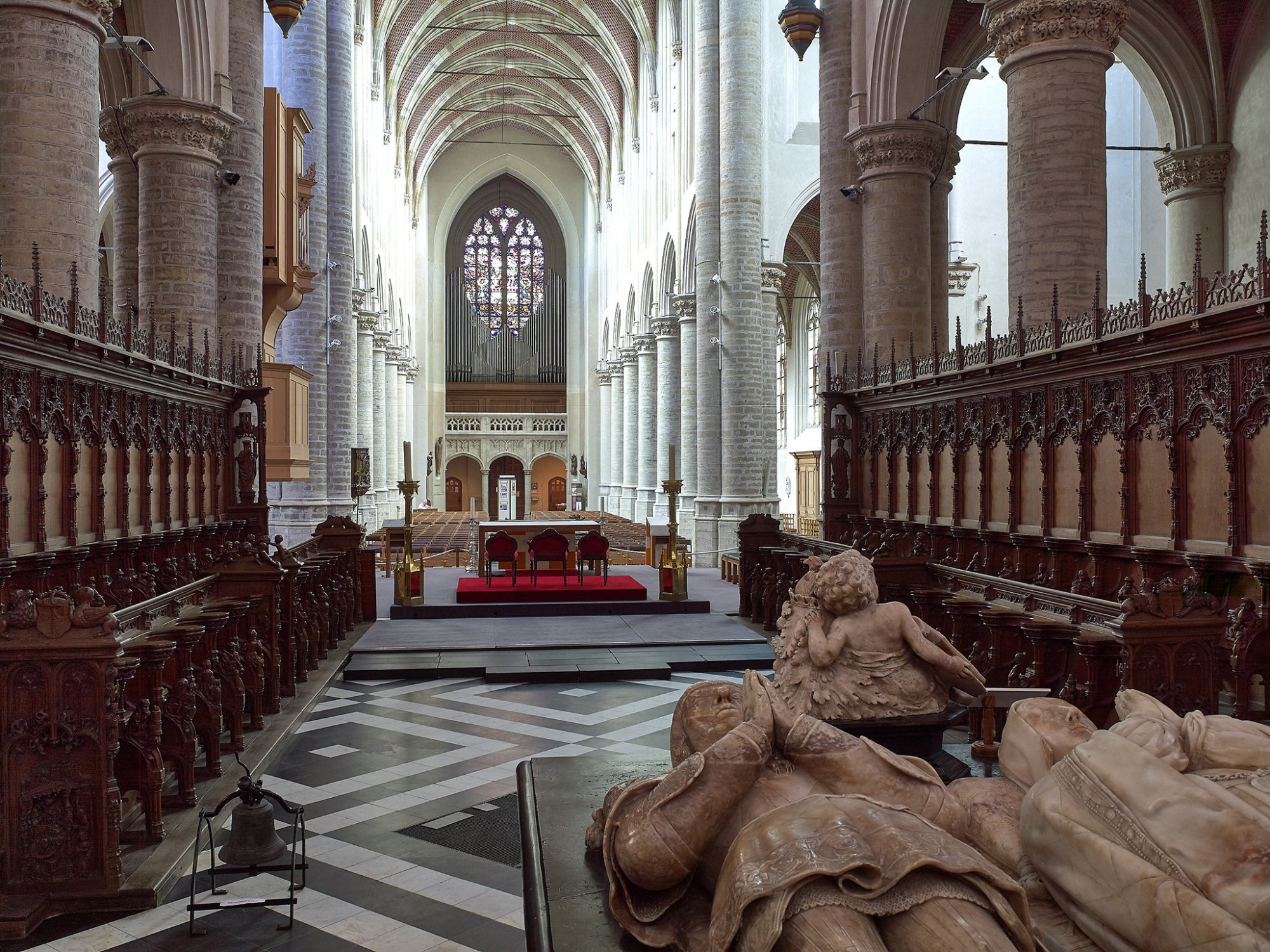 Afbeelding: Fotografie erfgoed, Foto Van Huffel Hoogstraten, Sint-Katarina kerk.
