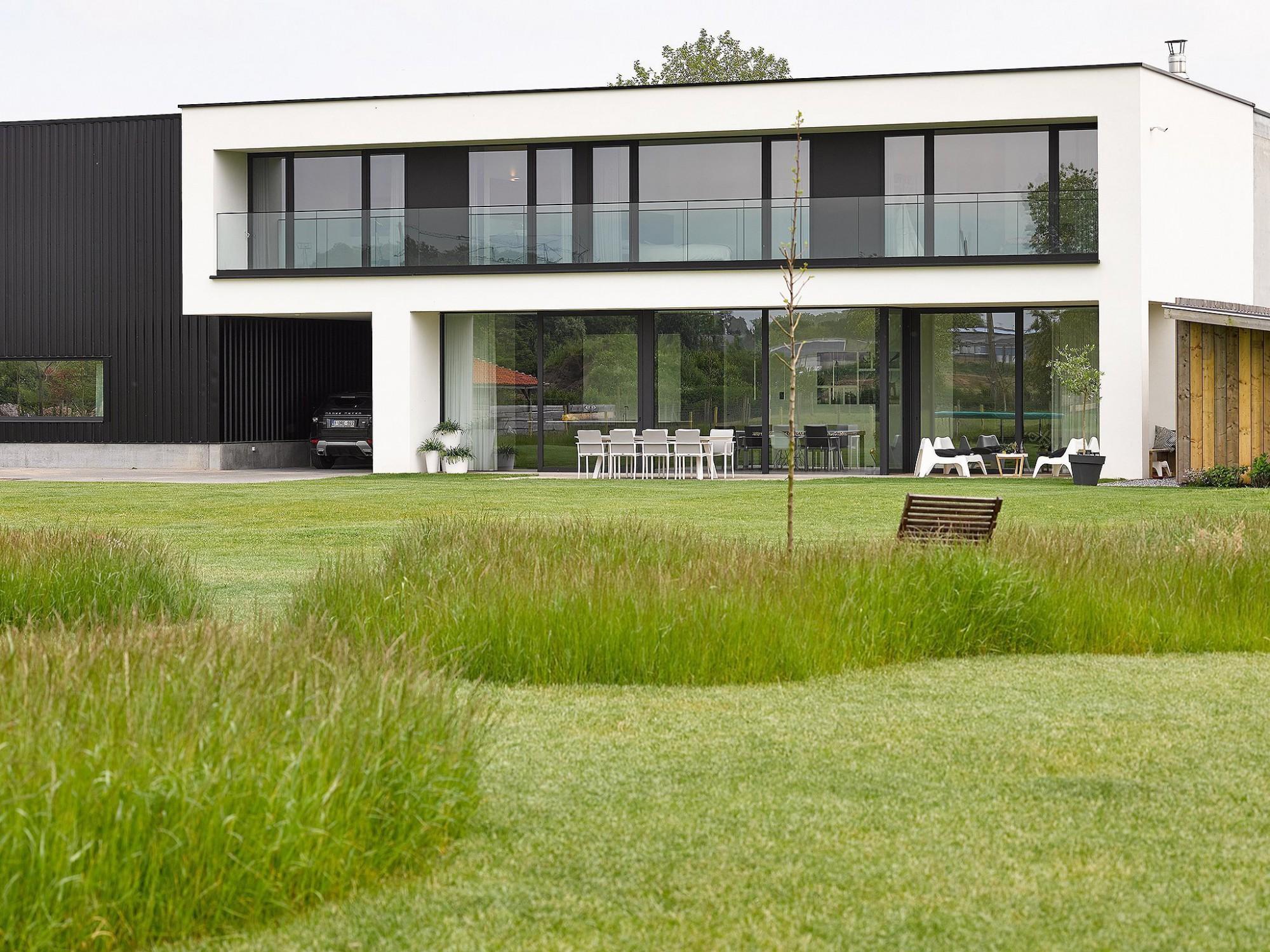 Afbeelding: Architectuur fotografie,woning Ranst, voor bouwbedrijf Menbo.