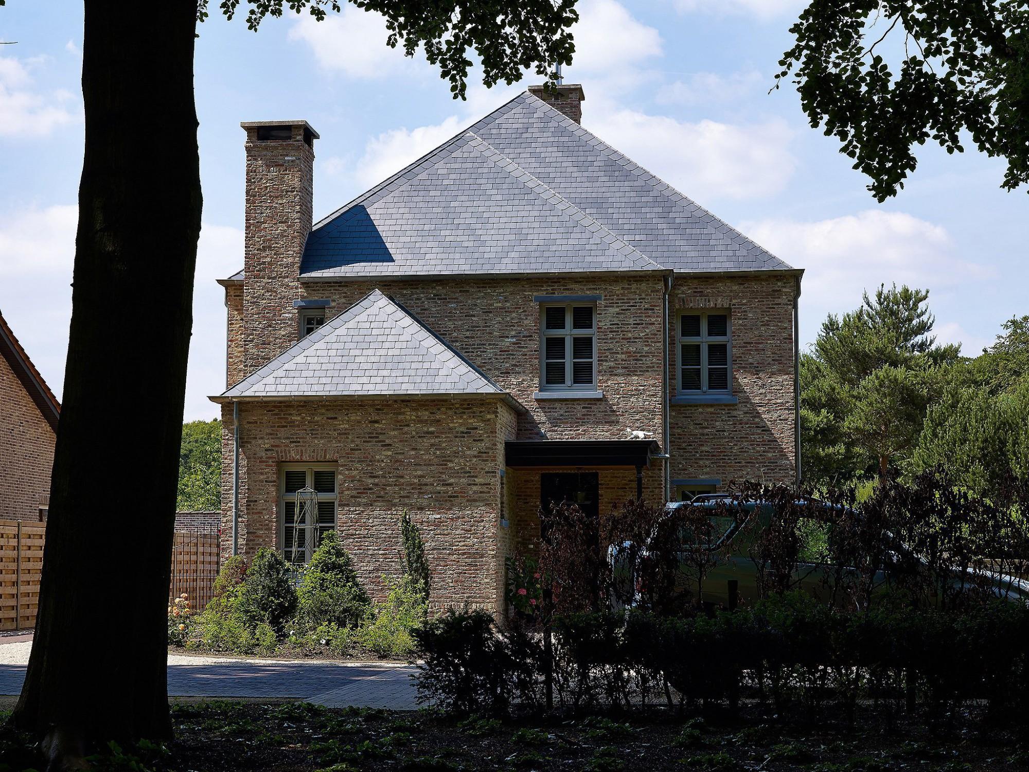 Afbeelding: Architectuur fotografie, klassieke woning, voor bouwonderneming RDK