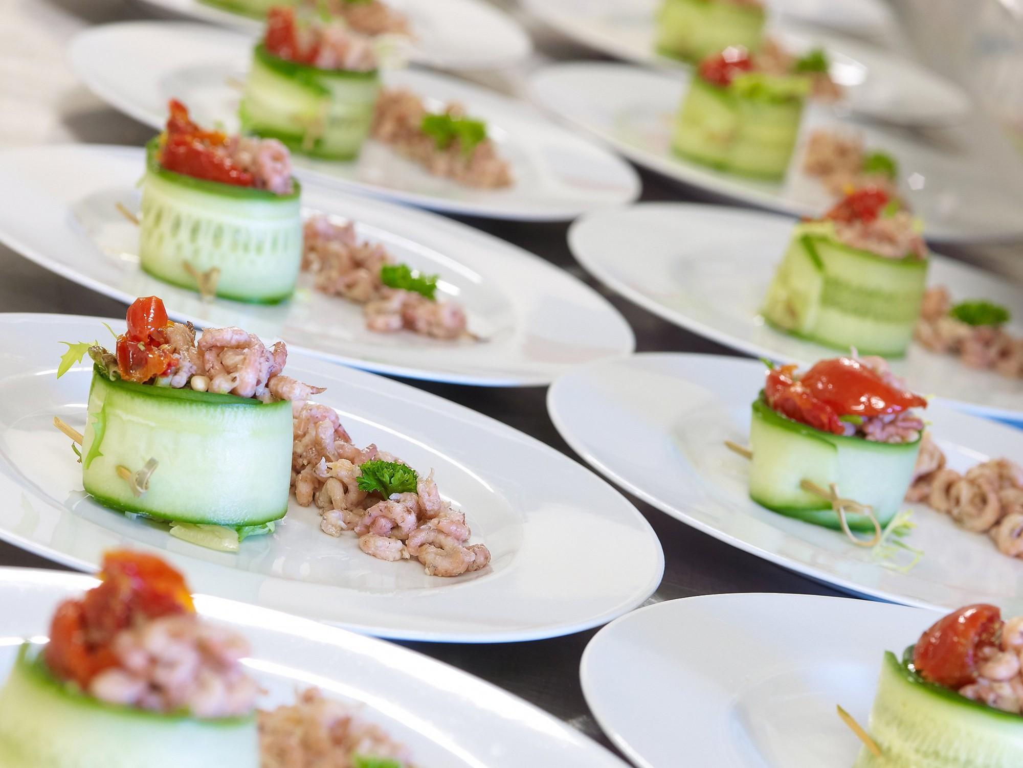 Afbeelding: Food fotografie voor Vandersmissen feestservice.