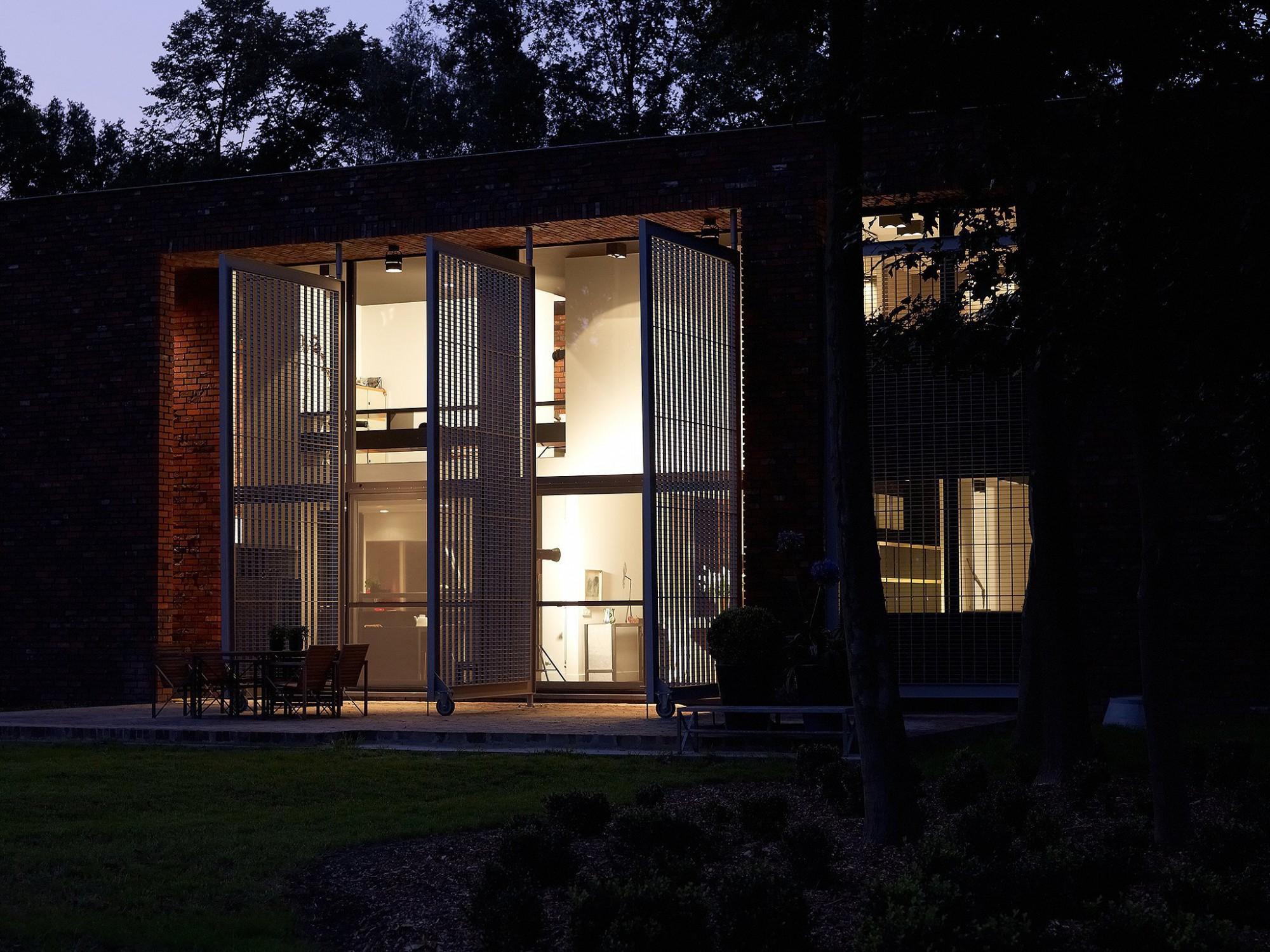 Afbeelding: Architectuur fotografie, moderne woning Boortmeerbeek, voor BVV architecten.