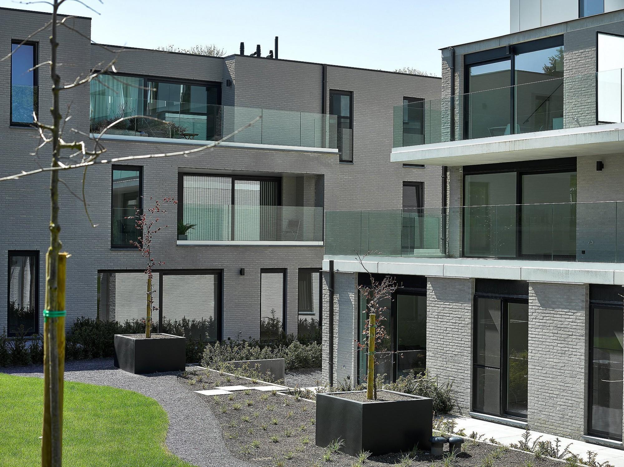 Afbeelding: Architectuur fotografie appartementen voor © mertens architecten, architectuurfotograaf Foto Van Huffel.