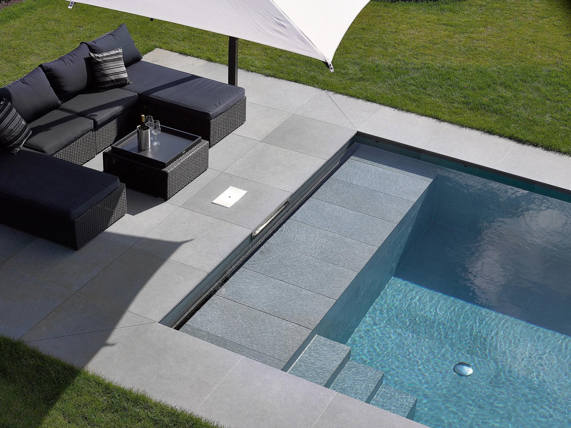 Afbeelding: Fotografie zwembad te Retie voor © Relaxzwembaden.