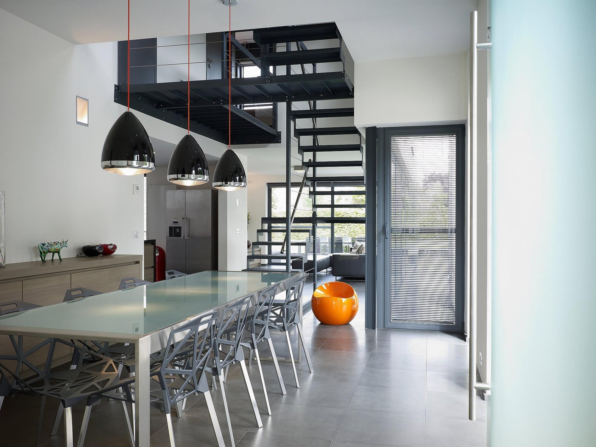 Afbeelding: Fotografie interieur te Kortenaken voor © BVV architecten, interieurfotograaf Foto Van Huffel.