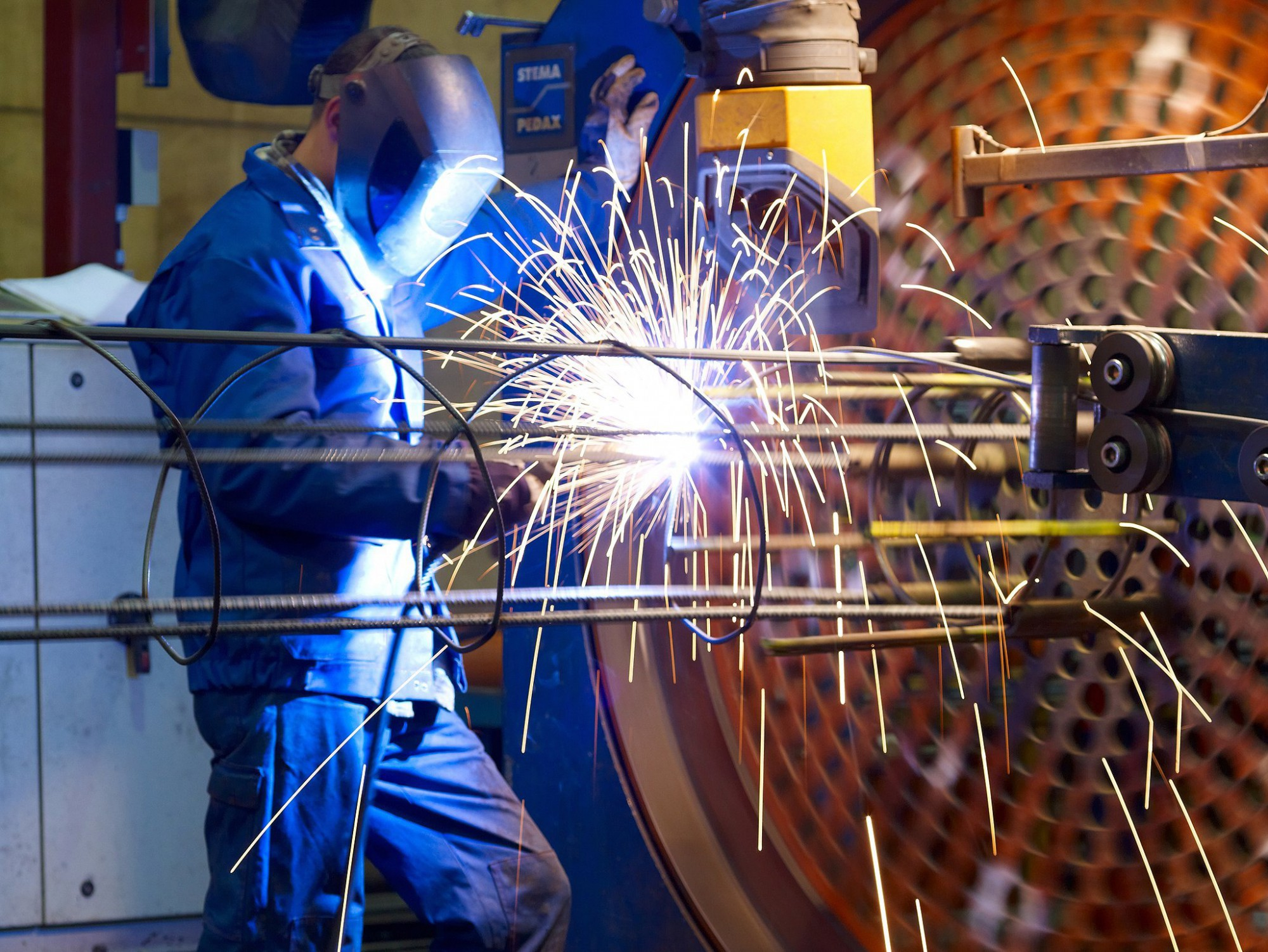 Afbeelding: Bedrijfs reportage voor Staalbeton, atelier.