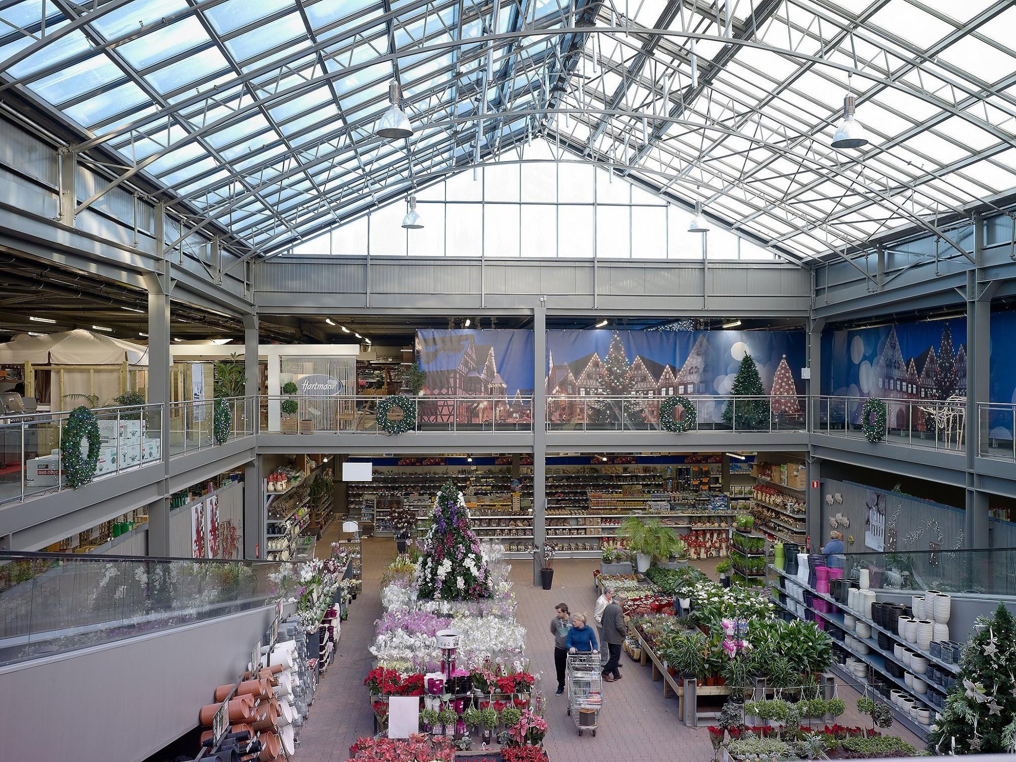 Afbeelding: Interieur fotografie industrie, tuincentrum Pelckmans te Turnhout voor ASK-Romein.