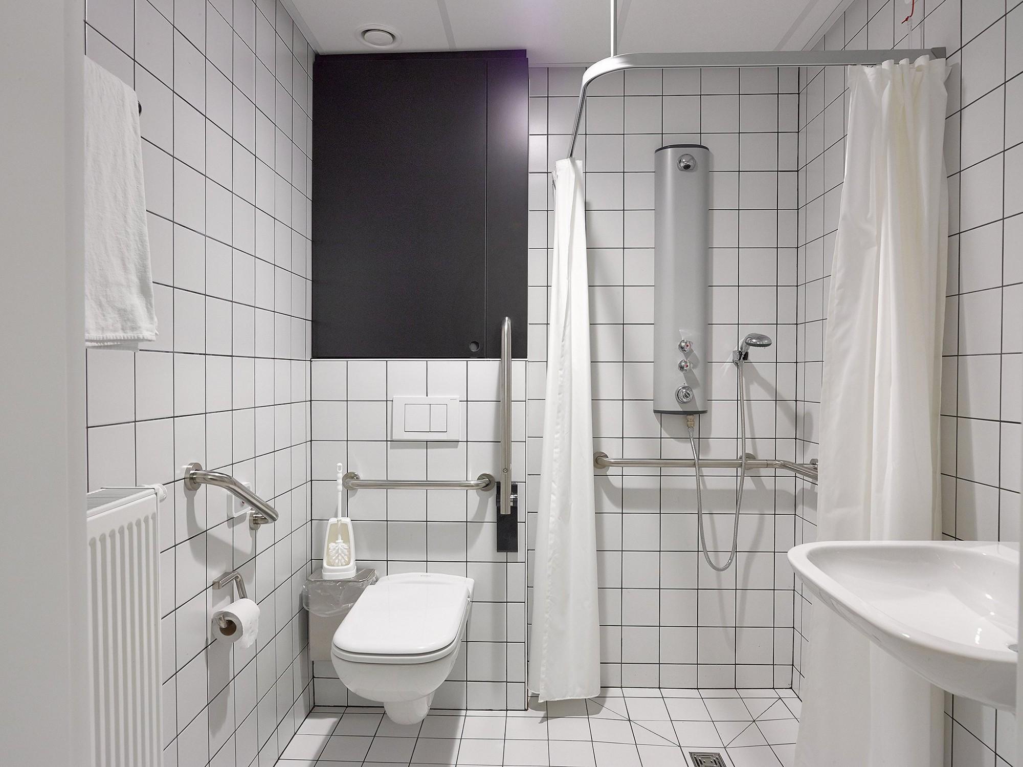 Afbeelding: Fotografie sanitaire infrastructuur woonzorgcentra.